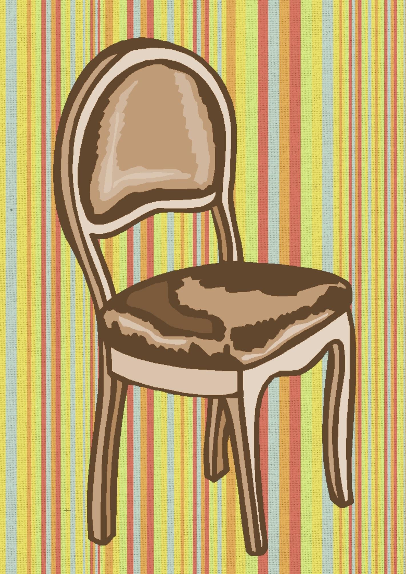 Brown Chair, Brown, Chair, Furniture, Graphics, HQ Photo