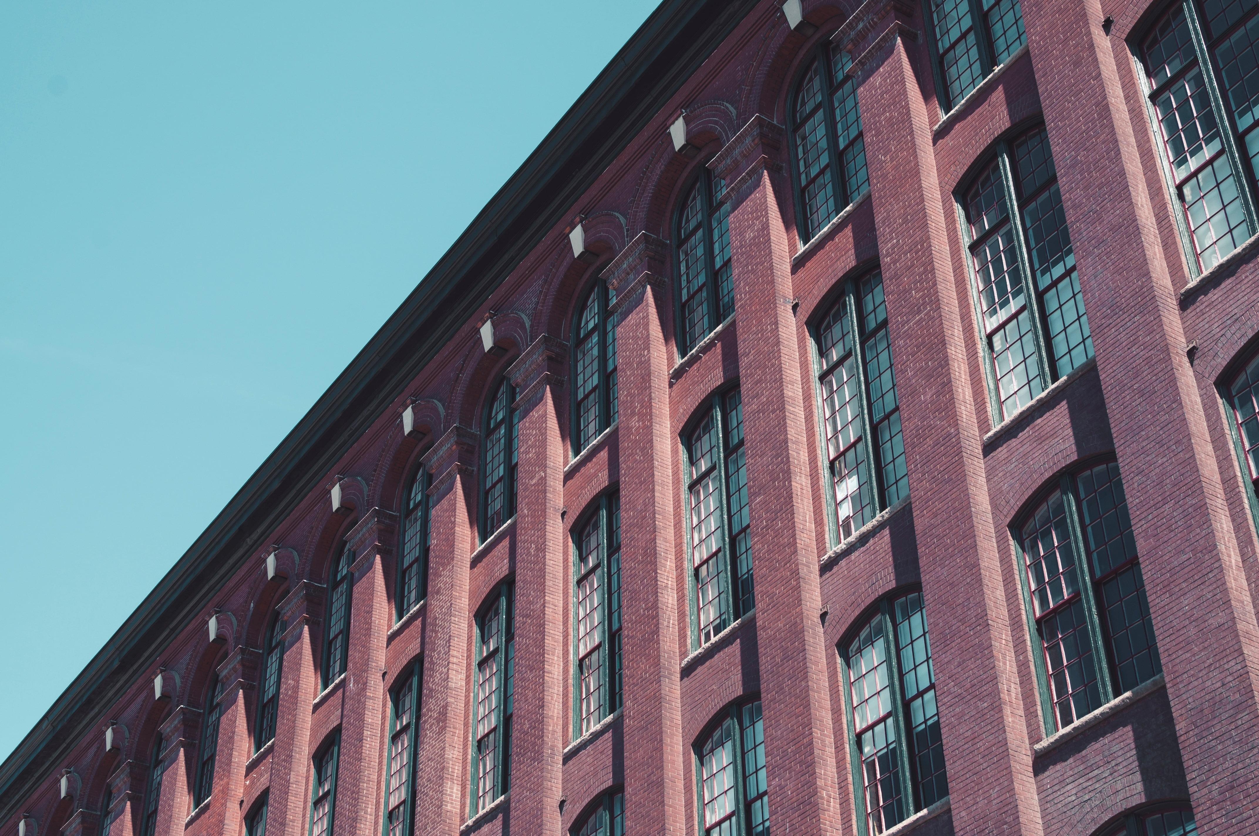 Brown concrete building, Facade, Windows, Building HD wallpaper ...