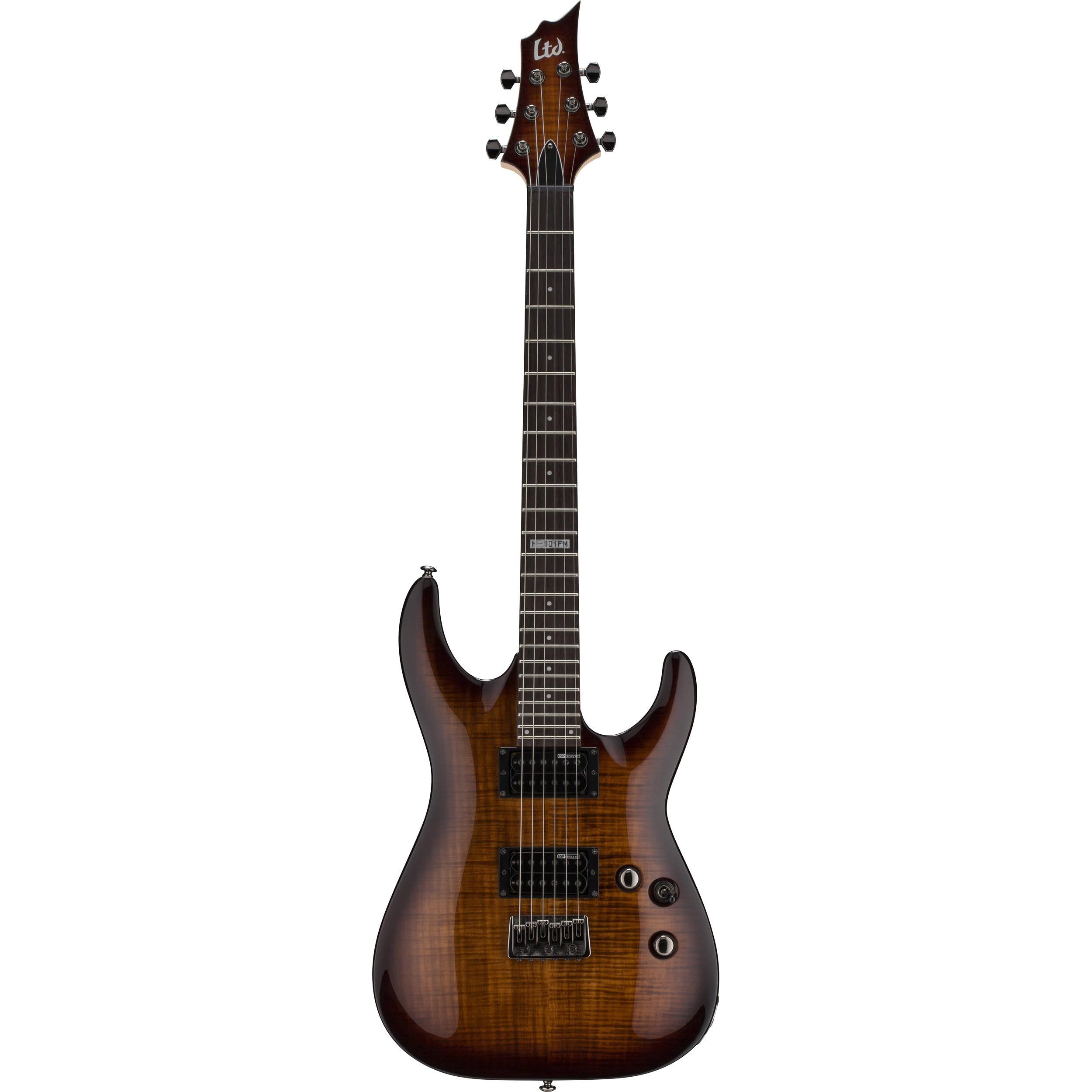 Used ESP LTD H-101FM Electric Guitar LH101FMDBSB B&H Photo Video
