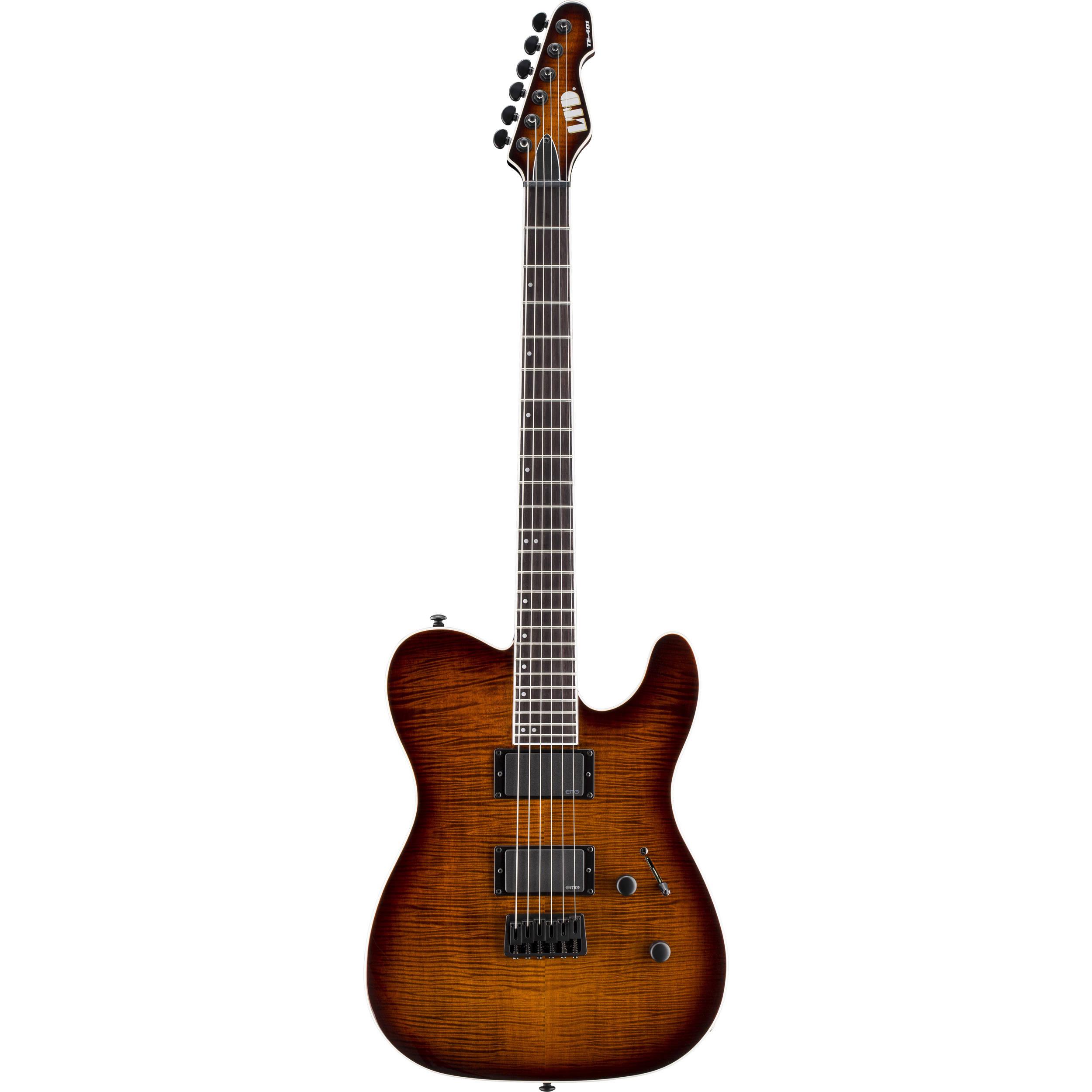 ESP LTD TE-401FM Electric Guitar LTE401FMDBSBS B&H Photo Video