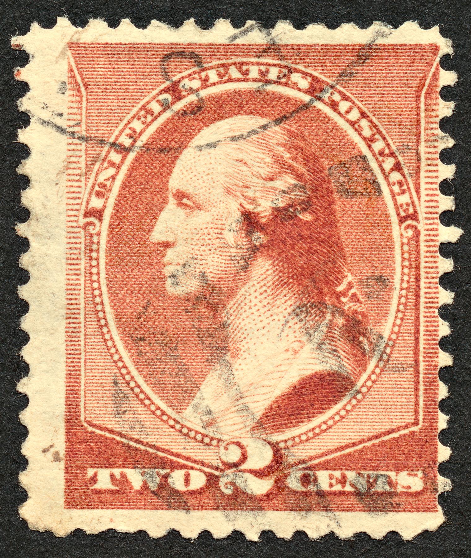 Brown George Washington Stamp, 2, President, Scrap, Retro, HQ Photo