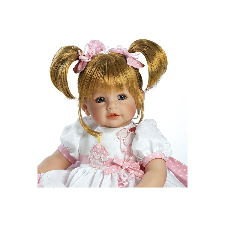 Adora Doll Brown Eyes   Hair Blue Eyes Adora Baby Doll Plaid ...