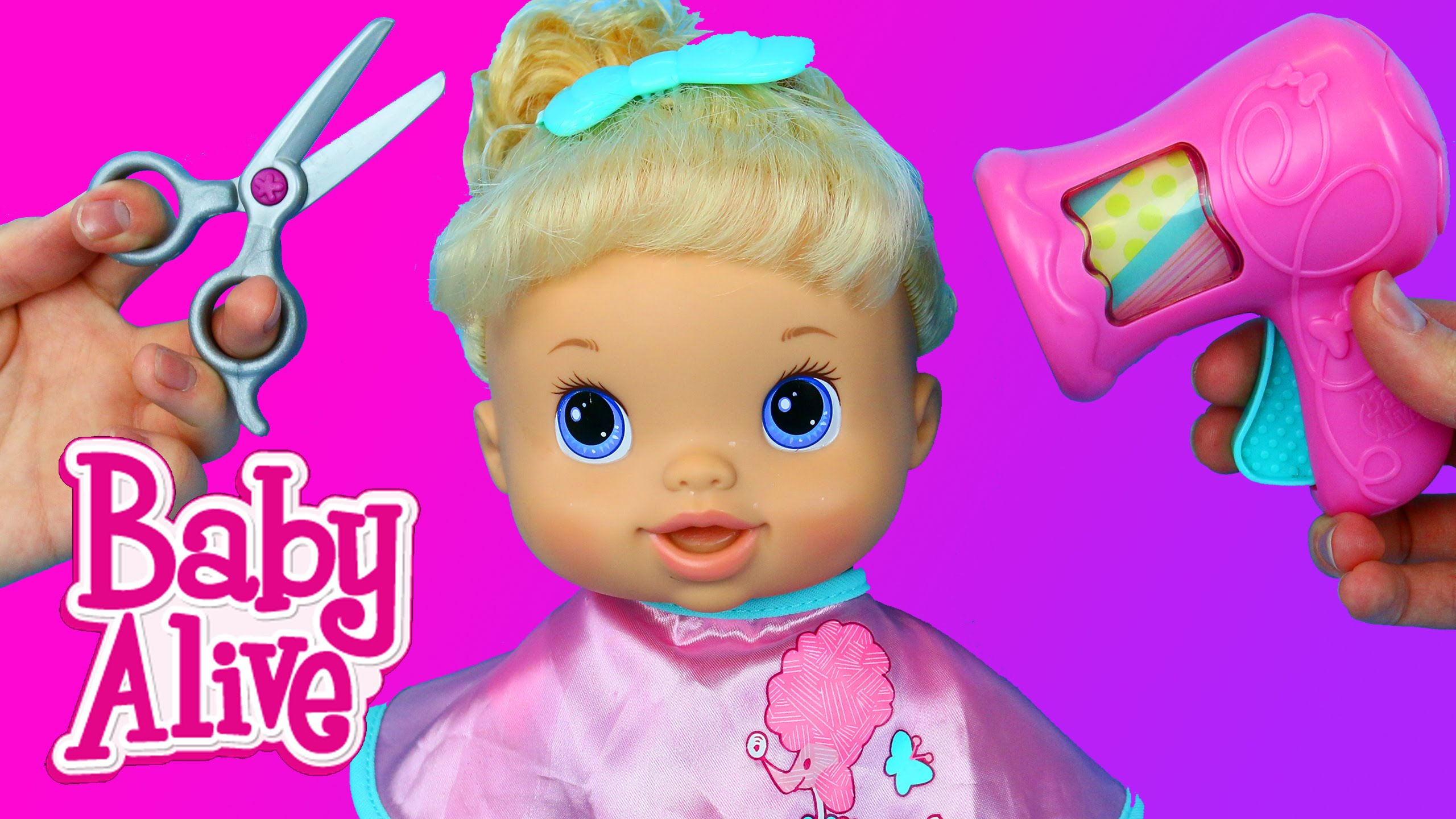 BABY ALIVE Hair Styles With Beautiful Now Baby Alive Baby Doll ...