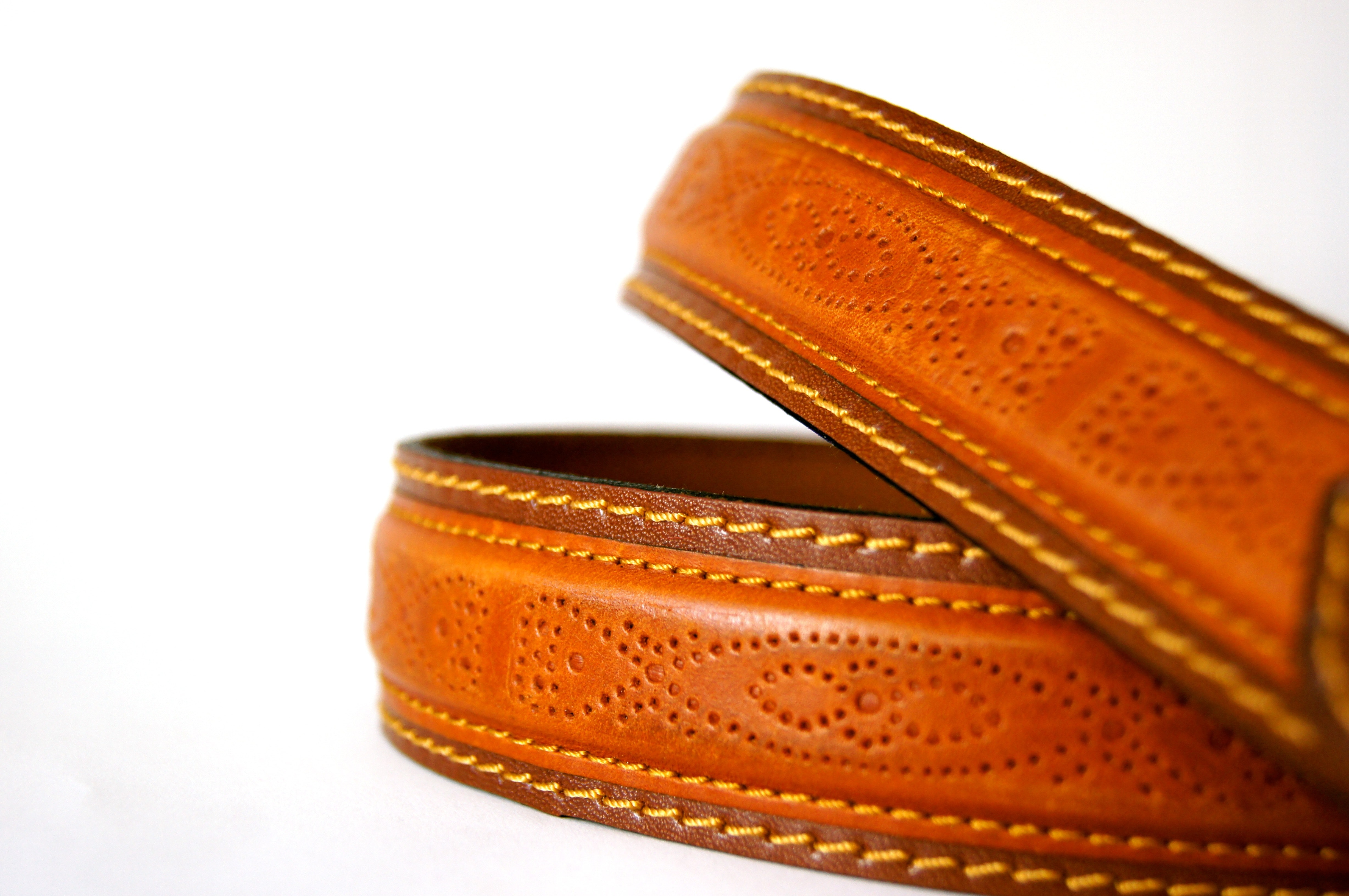 Brown Leather Belt, Belt, Brown, Close-up, Fashion, HQ Photo