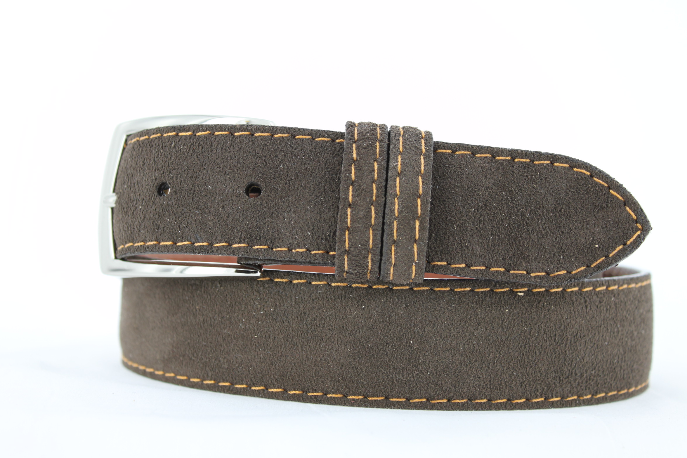 Handmade Genuine Suede Leather Belts | Patrick Gibbons Handmade