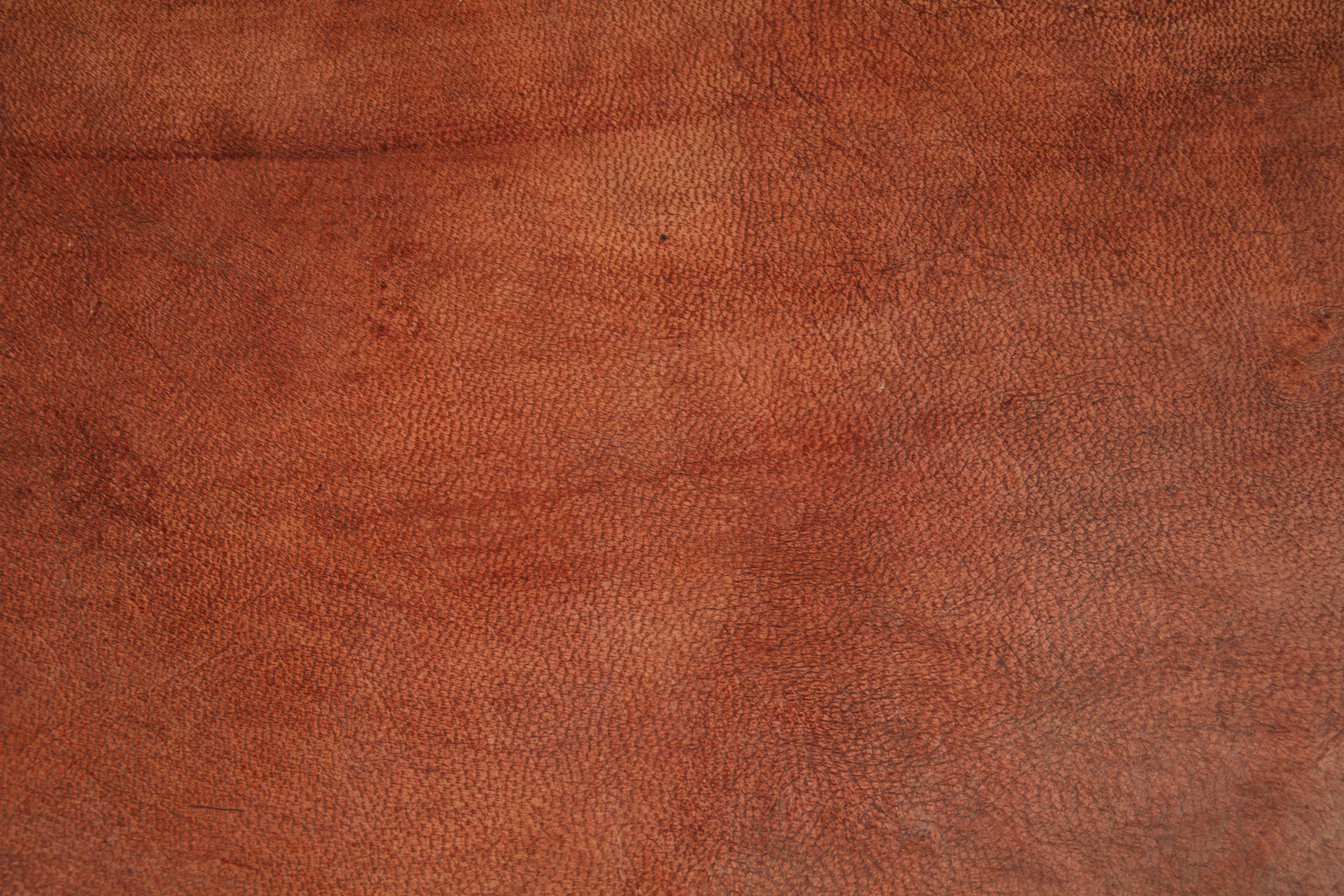 Free Photo Brown Leather Texture Grainy Isolated