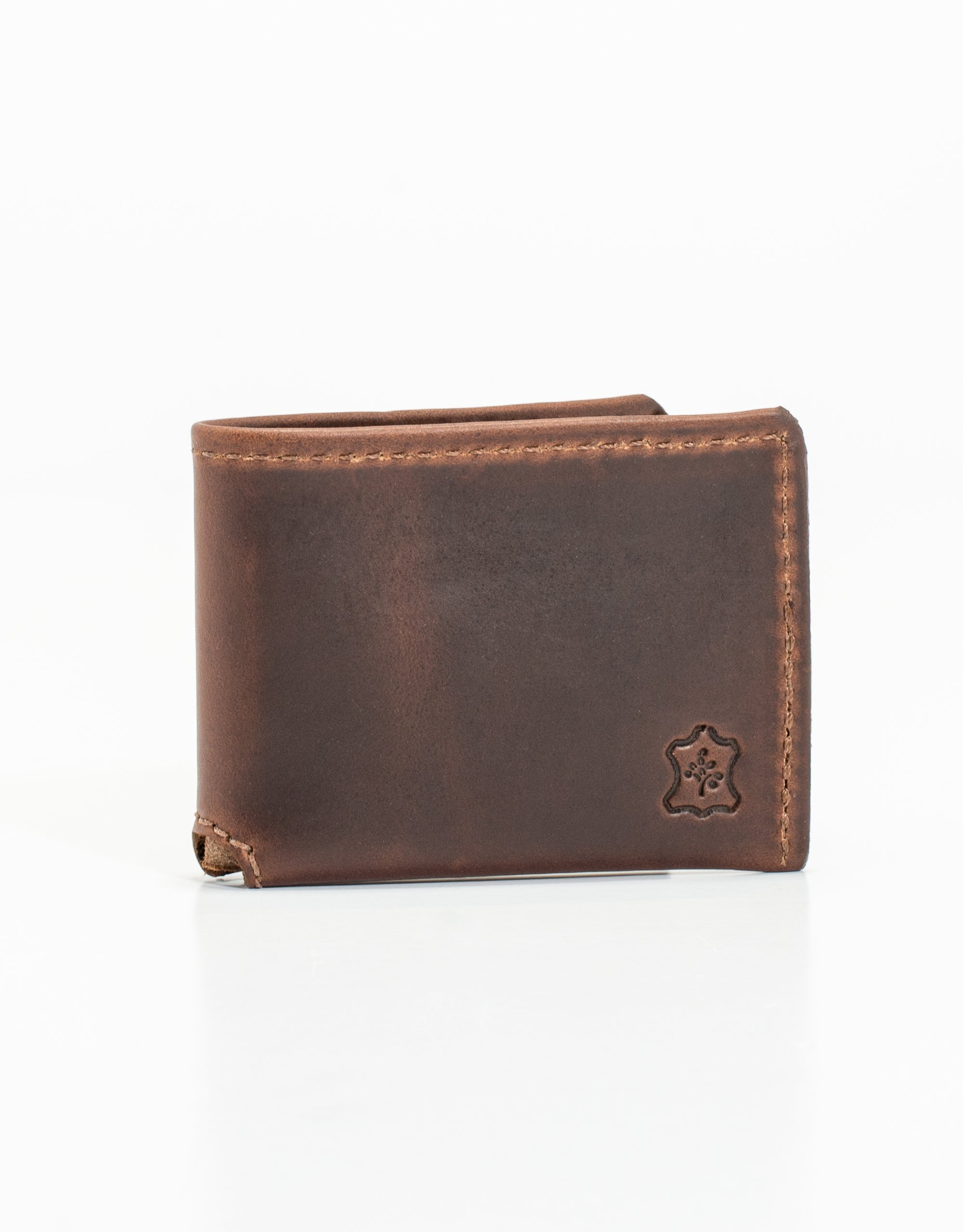 CLASSIC BI-FOLD LEATHER WALLET - BROWN – J.PRESS