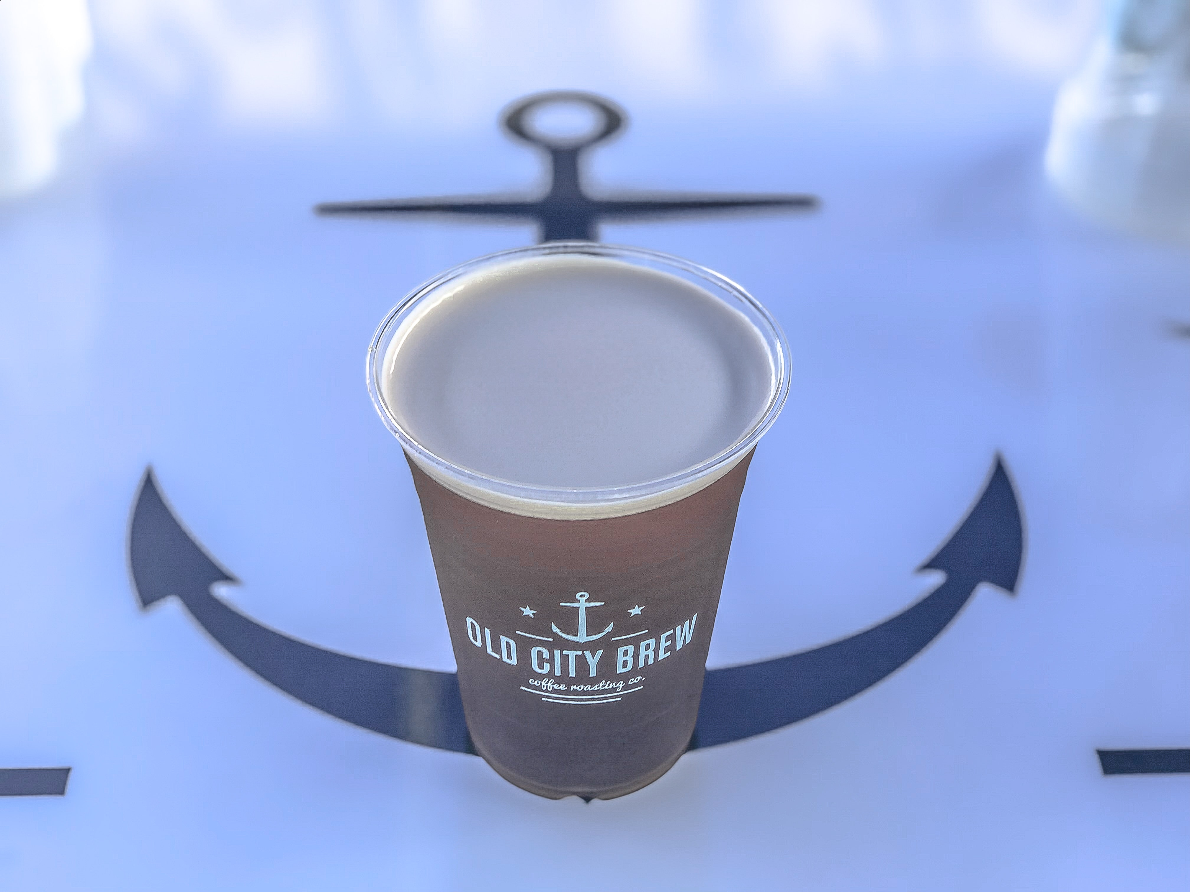 Brown Old City Brew Can, Cup of coffee, Graphic design, Indoors, Outdoors, HQ Photo