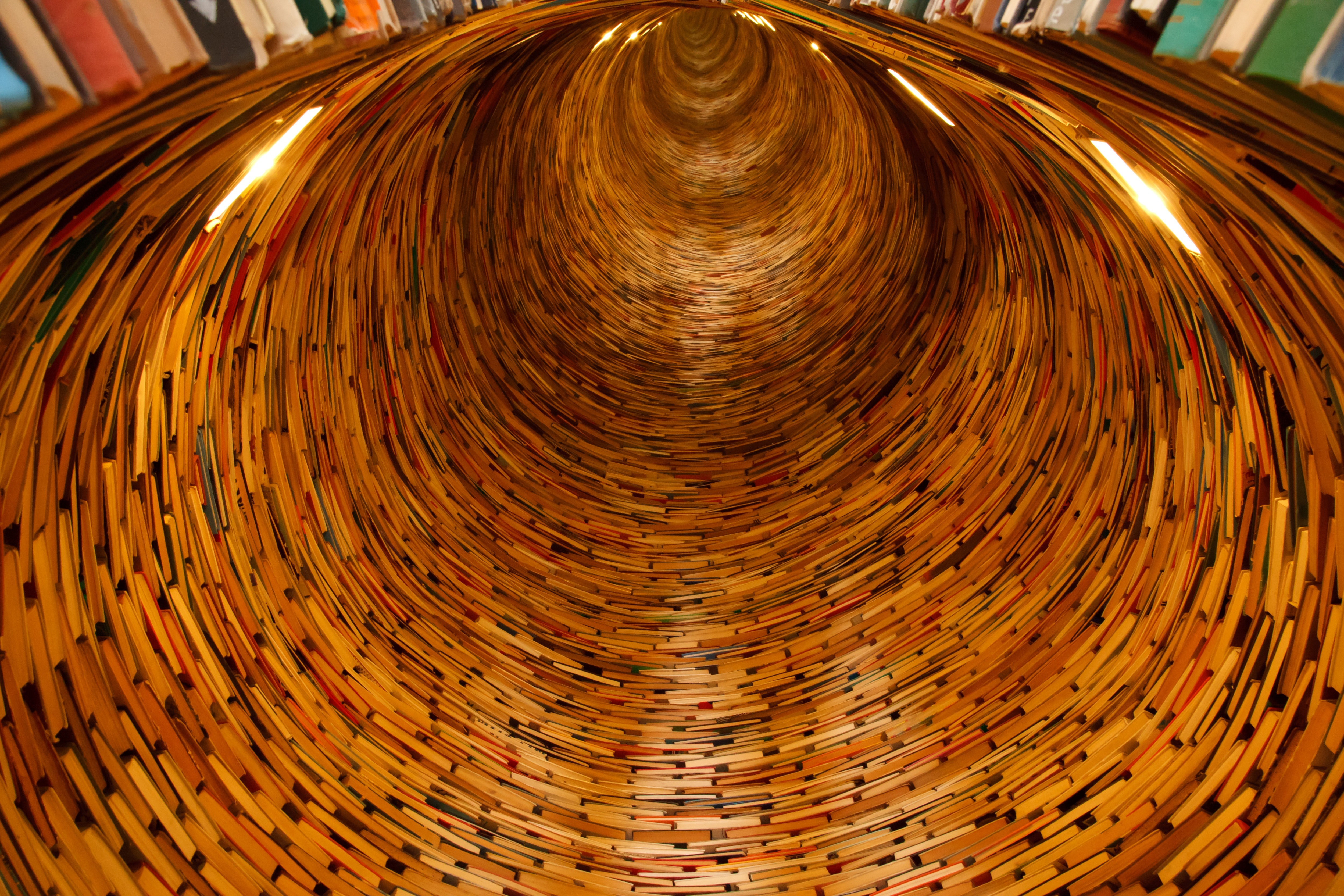 Brown Round Hole, Books, Education, Endless, Knowledge, HQ Photo