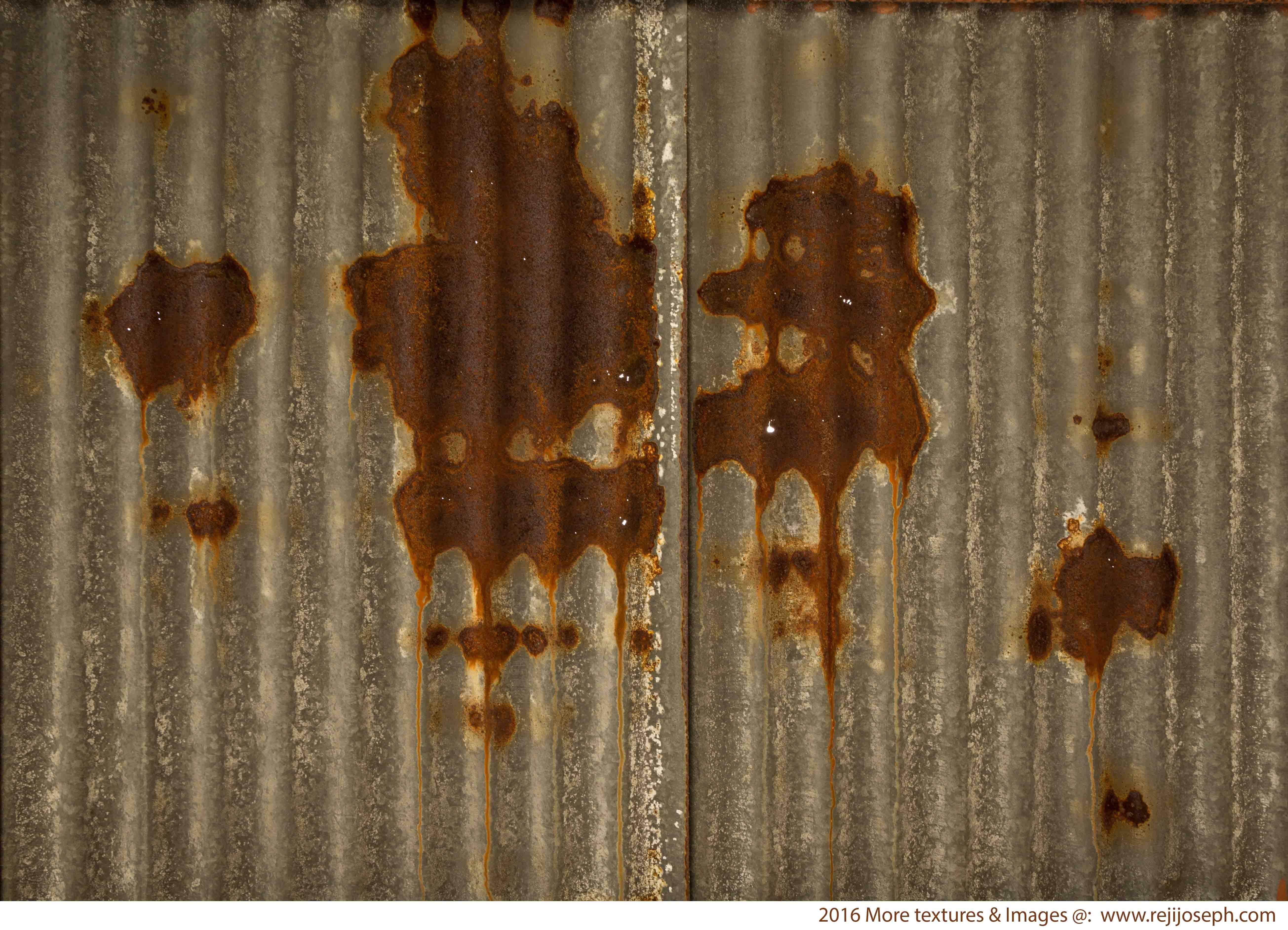 Rusty metal roof sheet texture 00001