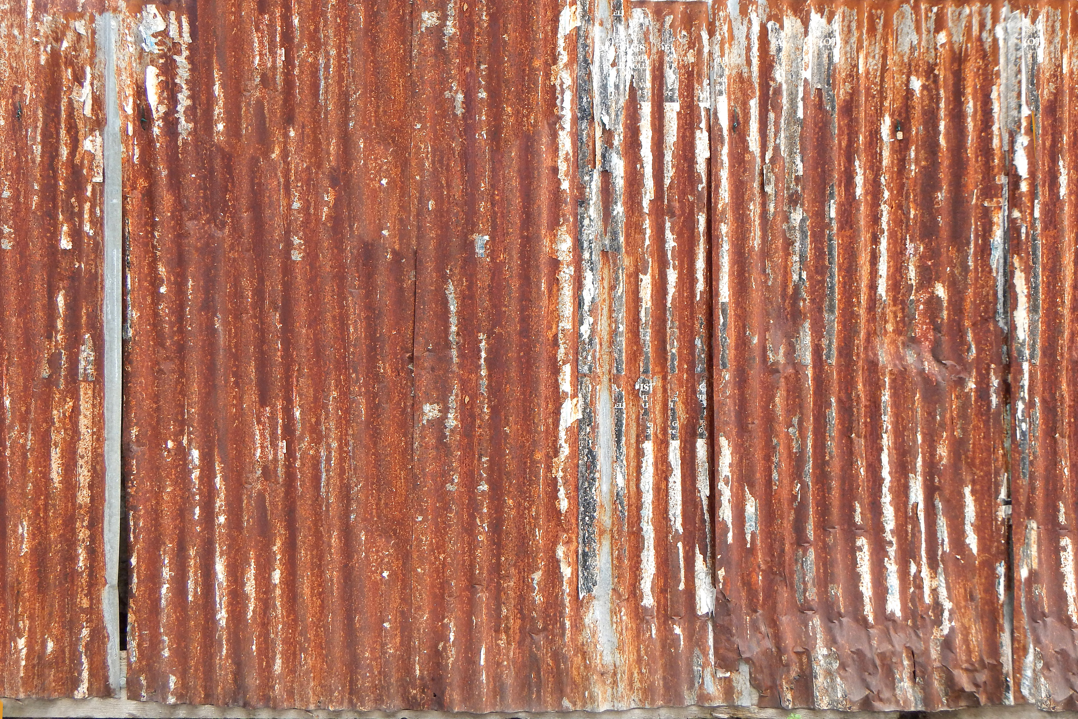 Free Photo Rusty Panel Steel Rusty Surface Free