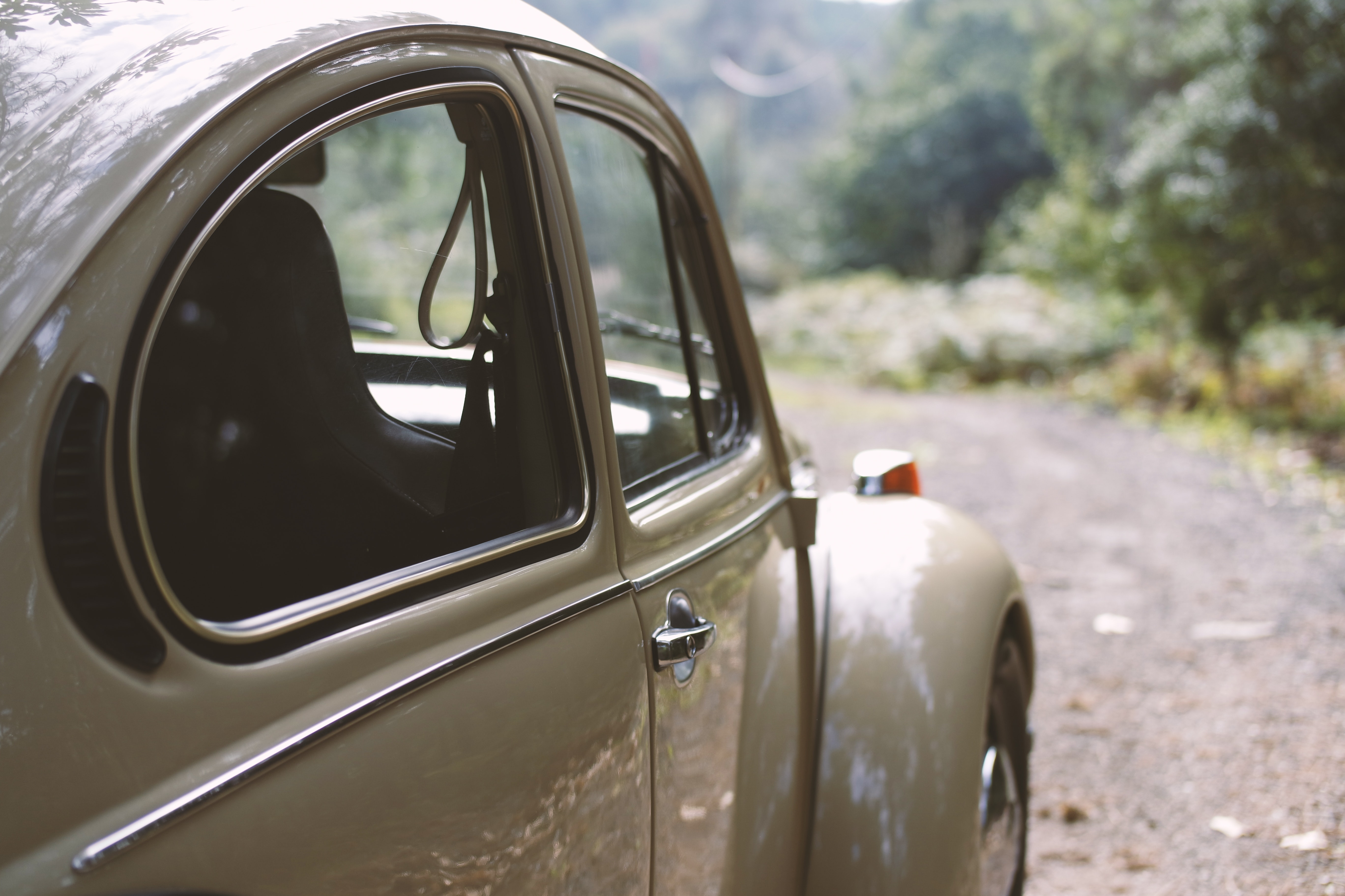 Brown Volkswagen Beetle, Beetle, Car, Classic, Road, HQ Photo