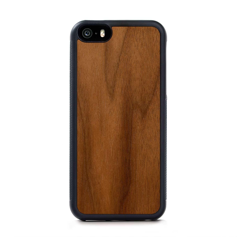 Walnut - iPhone SE Traveler Wood Case   Custom Wood Phone Cases ...