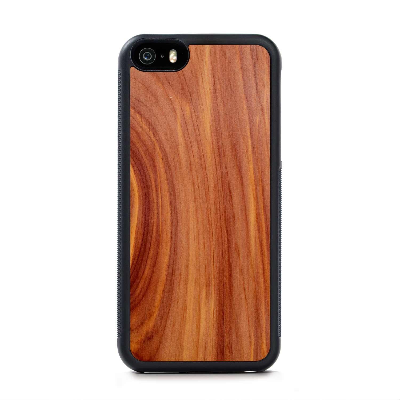 Eastern Red Cedar - iPhone SE Traveler Wood Case   Custom Wood Phone ...