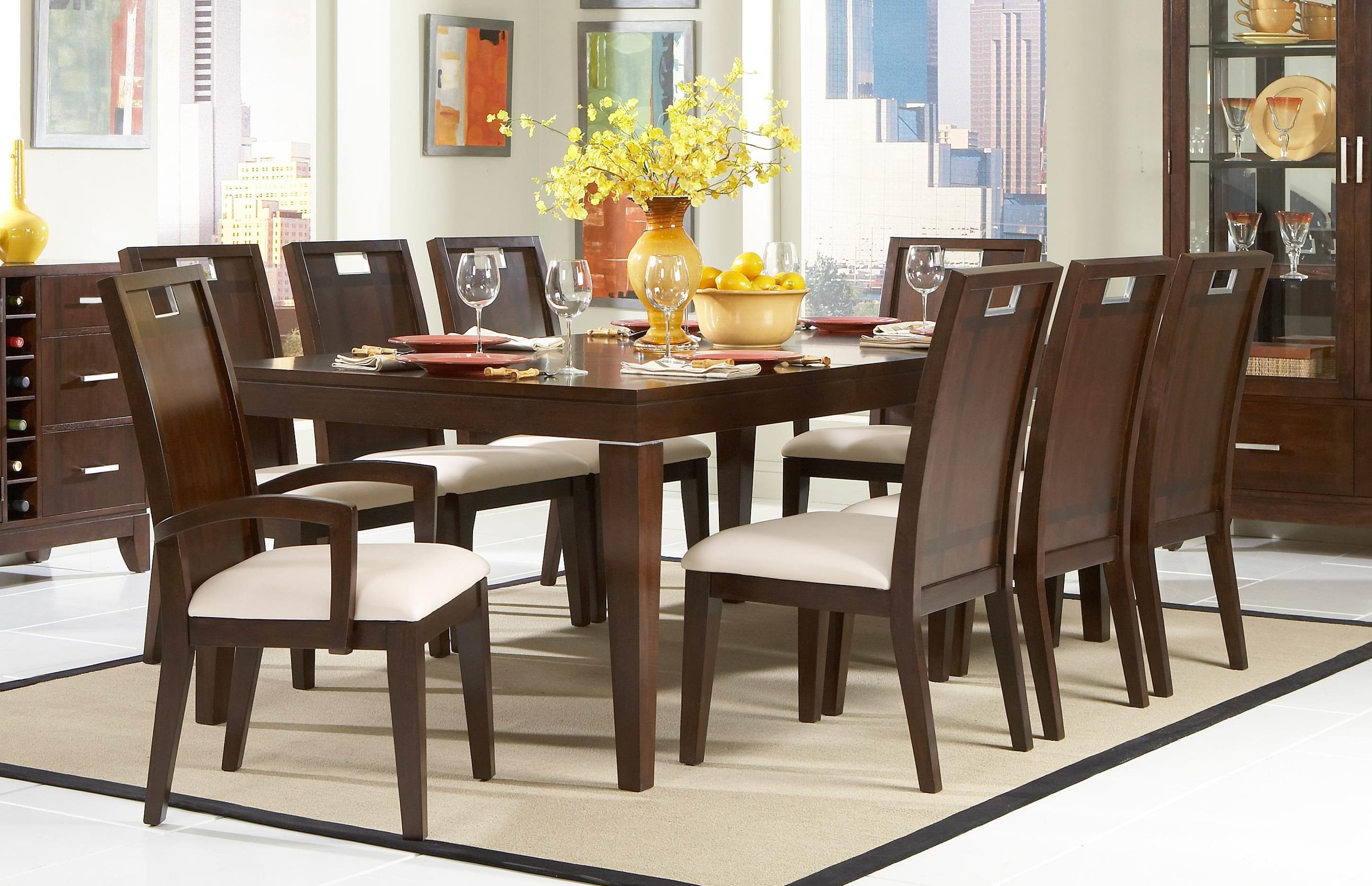 Interior : Decorative Modern Dining Table And Chairs Set 21 Room ...