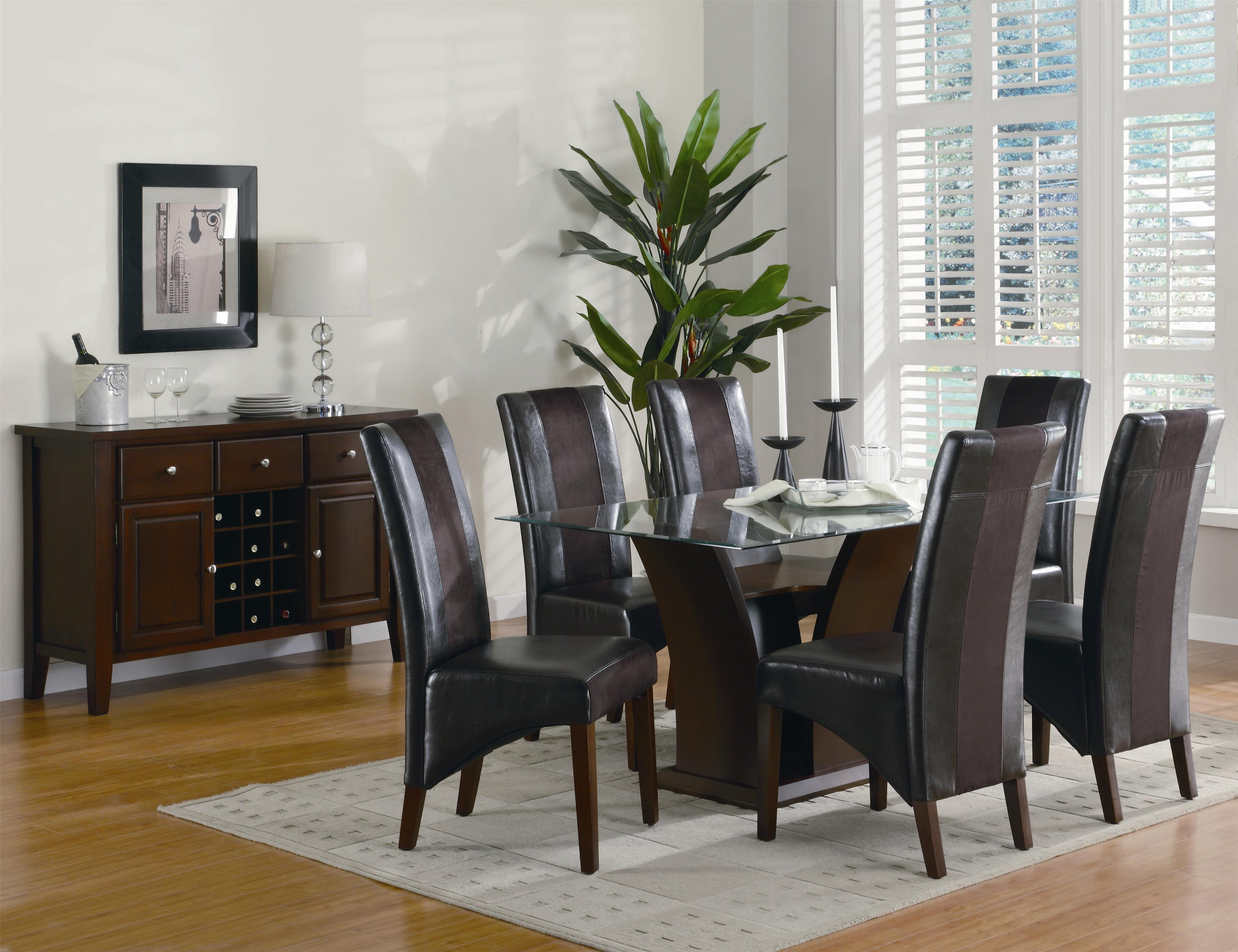 Black And Brown Dining Room Sets New Decoration Ideas Solid Wood ...