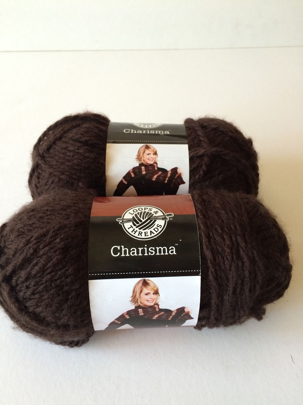 Skeins of Loops & Threads Charisma Yarn Espresso | eBay