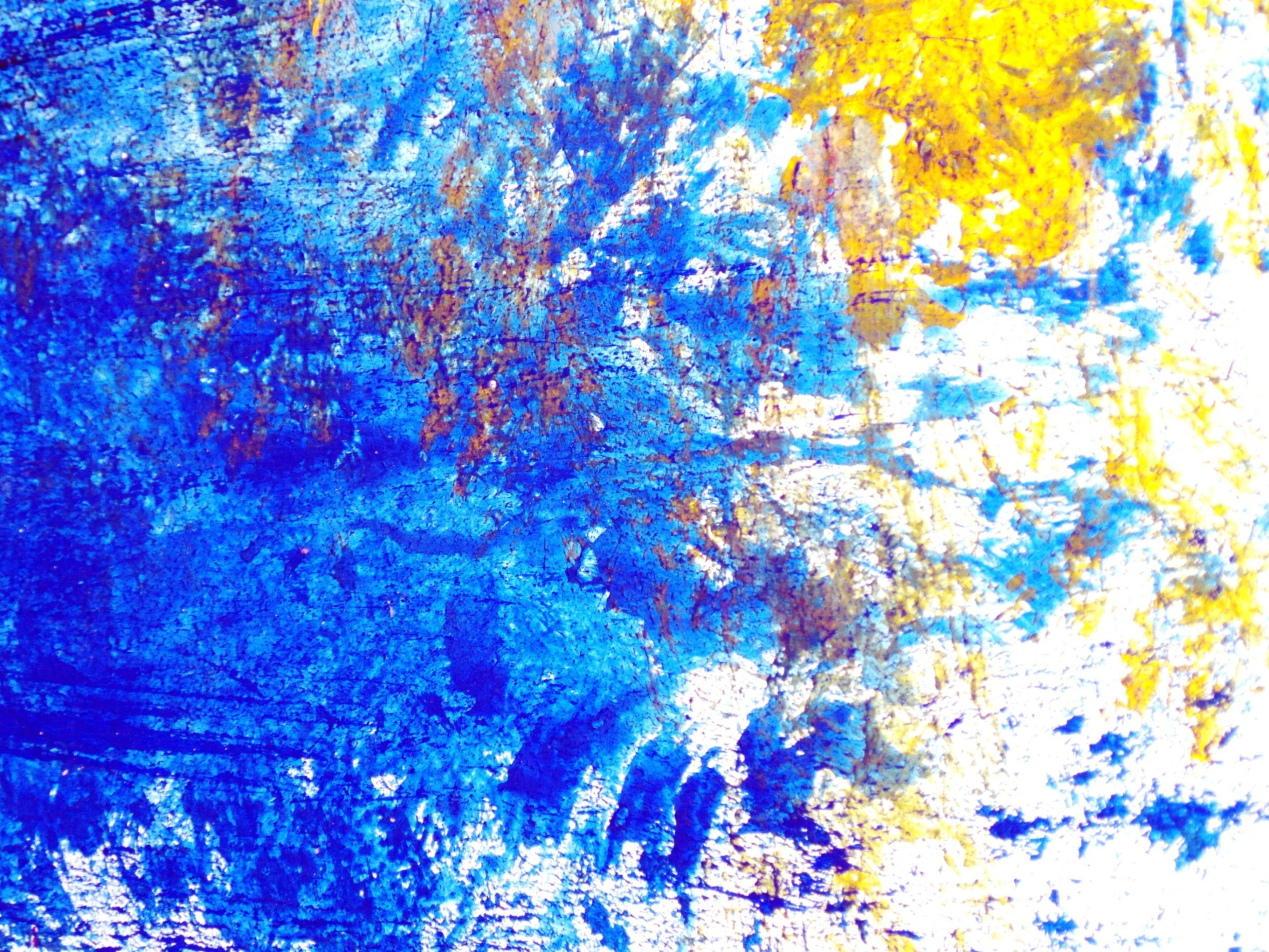 Brush Strokes Paint Background, Abstract, Runny, Modern, Multi, HQ Photo