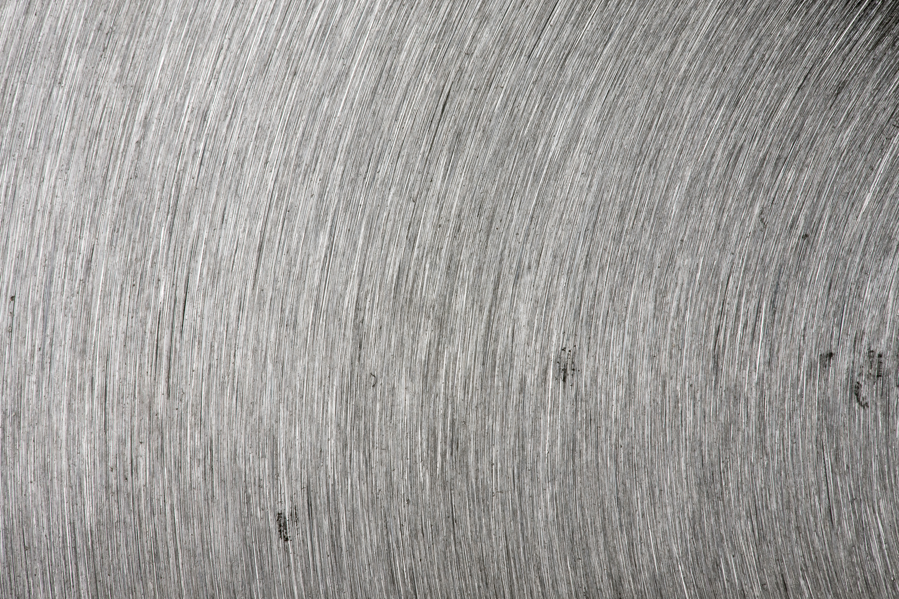 Brushed Metal Texture, Polished, Plate, Radial, Reflection, HQ Photo