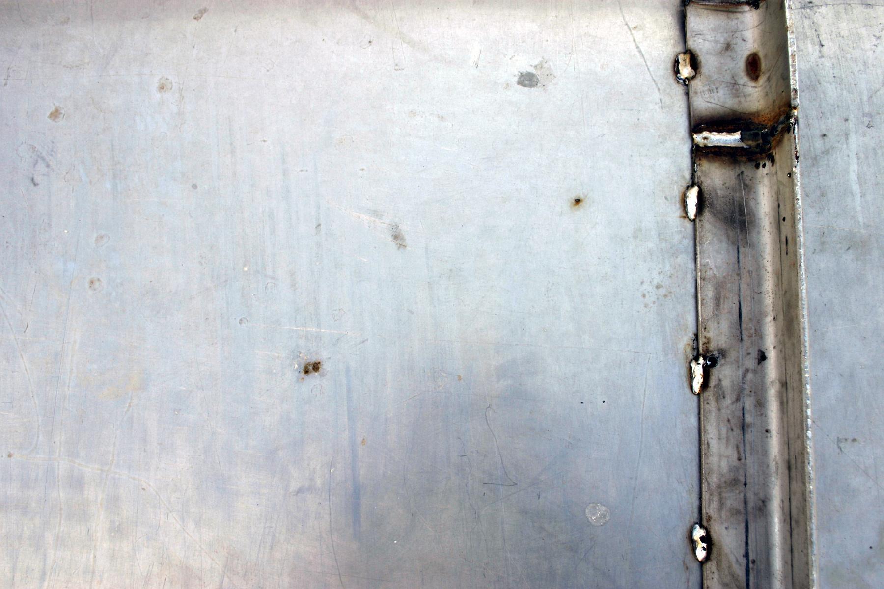 Brushed steel photo