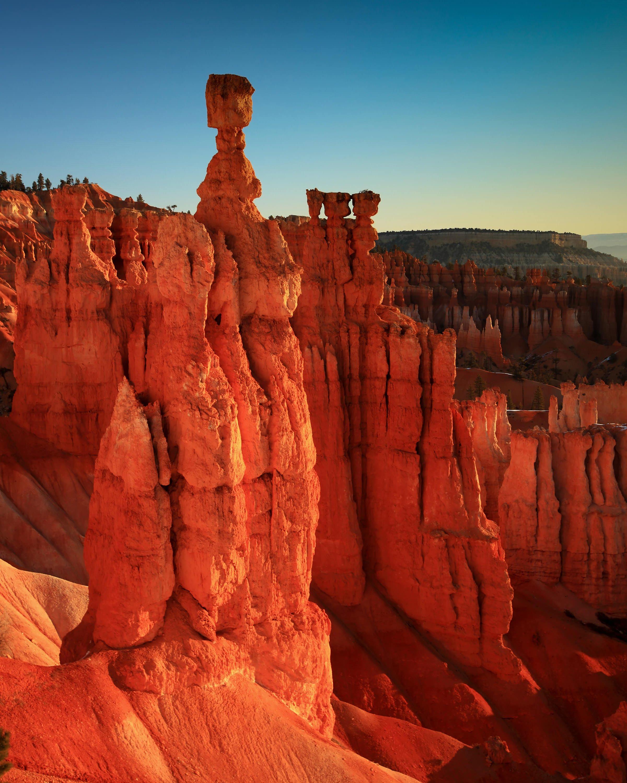 free photo bryce canon utah scenic sandstone rock free