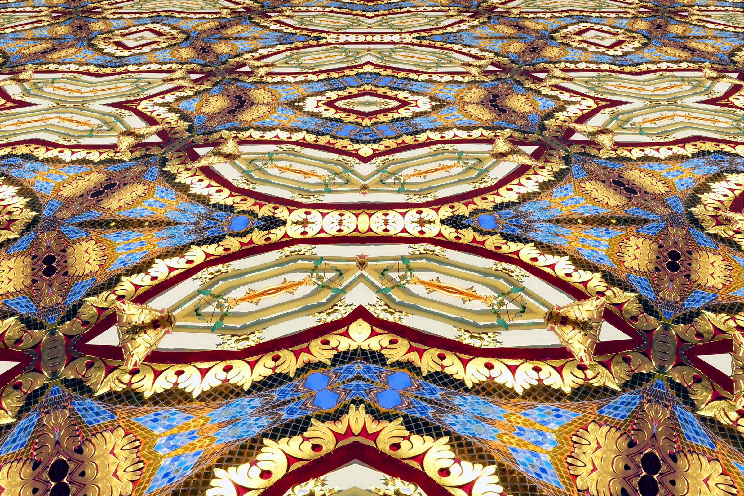 Buddhist temple design creation photo