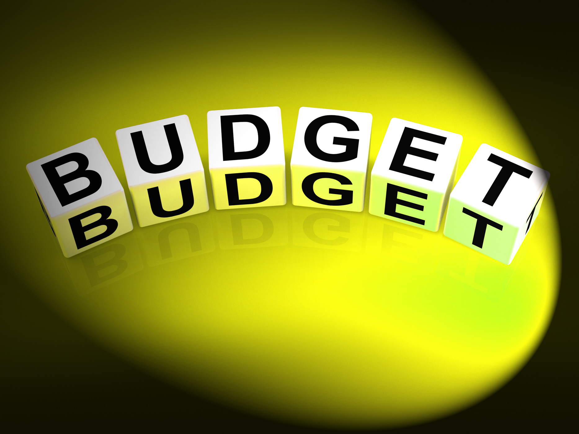 Budget Dice Show Financial Planning and Accounting, Accounting, Budget, Costs, Cuts, HQ Photo