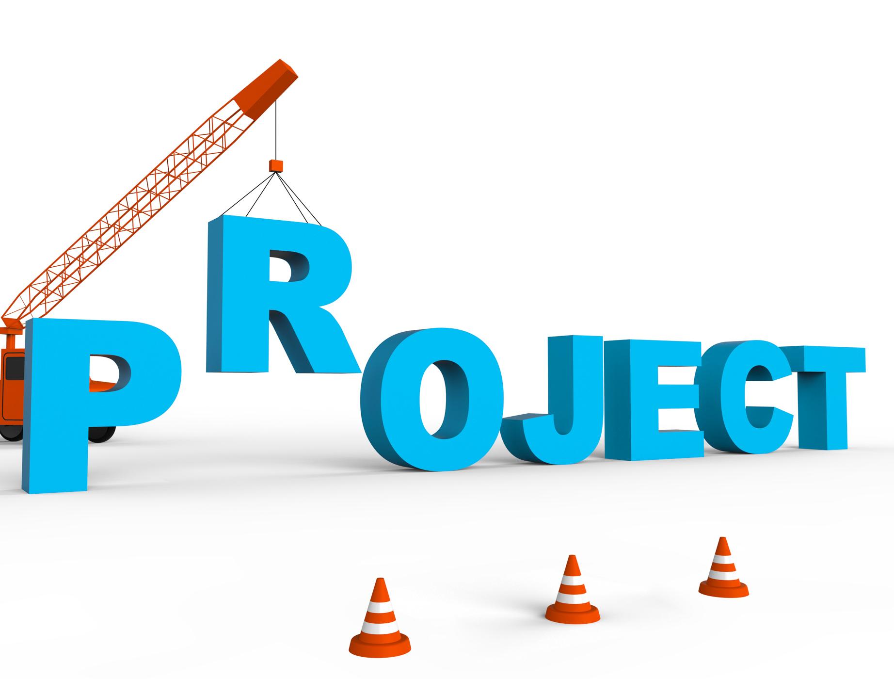 Build Project Indicates Building Scheme And Tasks 3d Rendering, 3drendering, Programme, Tasks, Task, HQ Photo