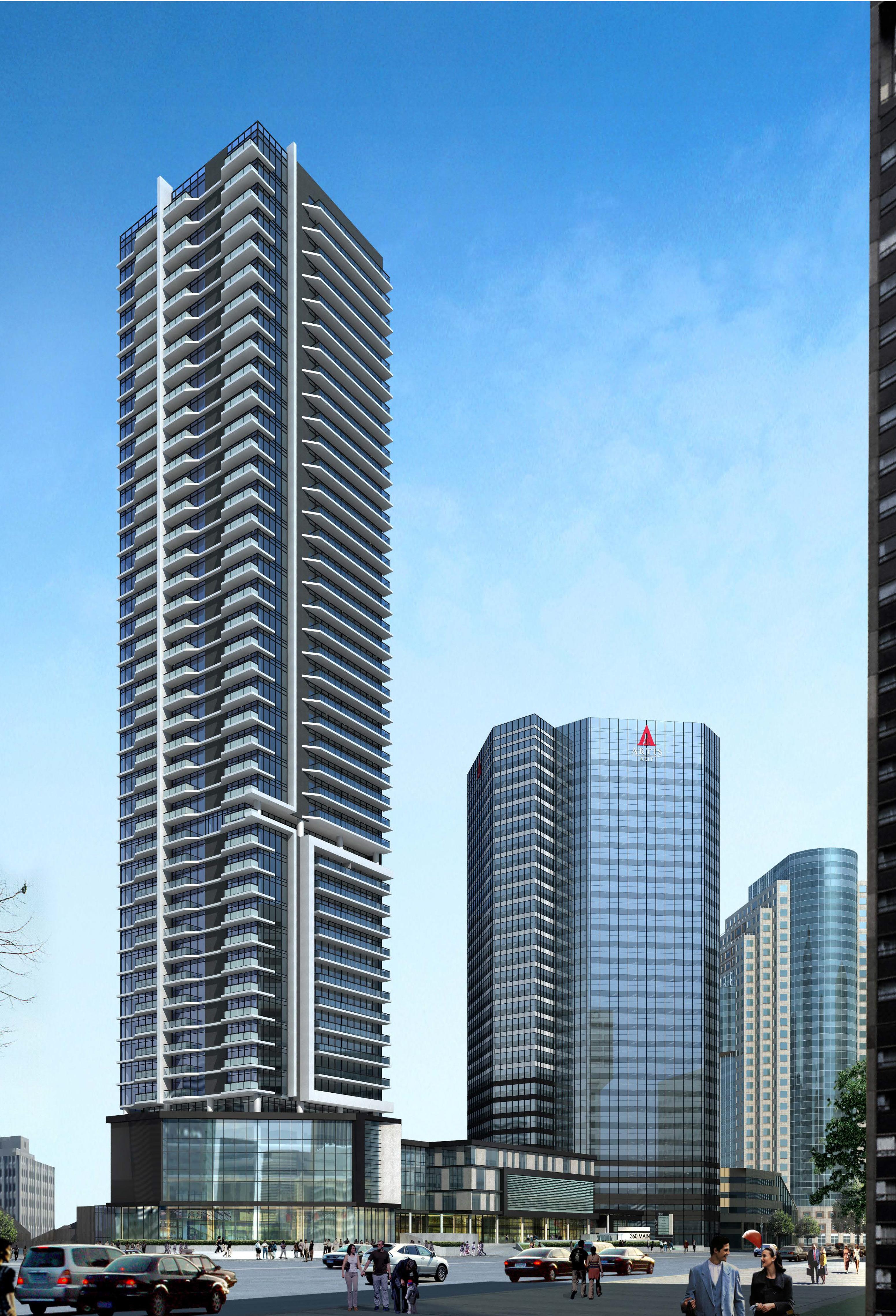 360 Main Building Envelope & 300 Main Announcement » Artis REIT ...