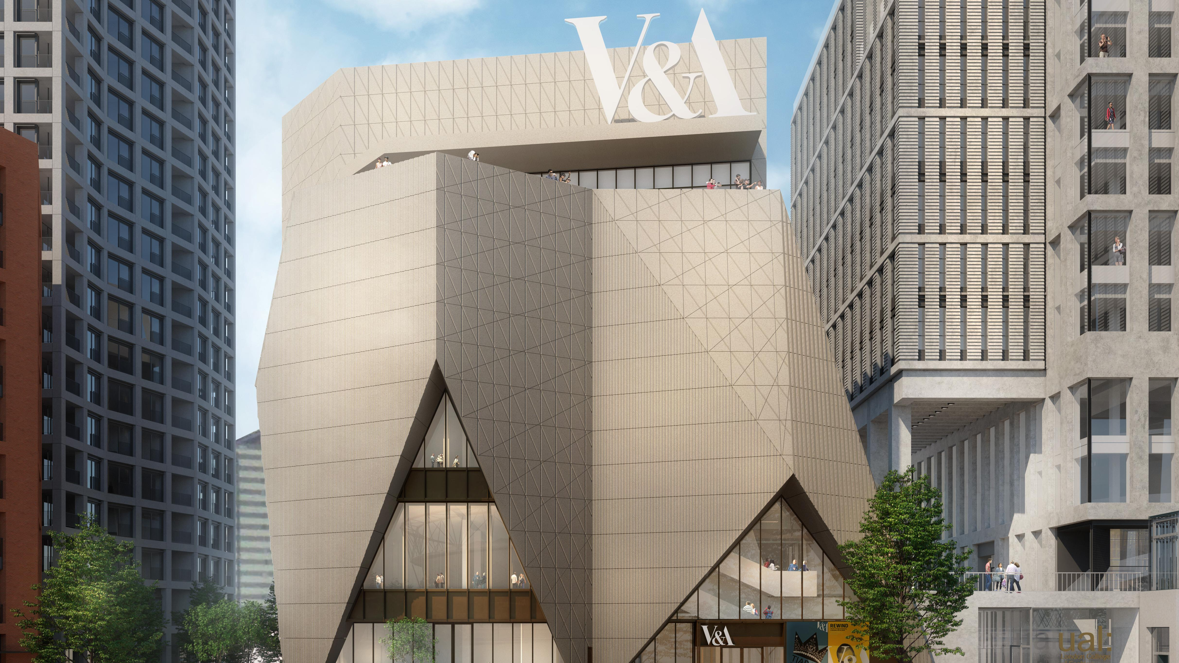 New V&A building is inspired by Fifties gown | News | The Times