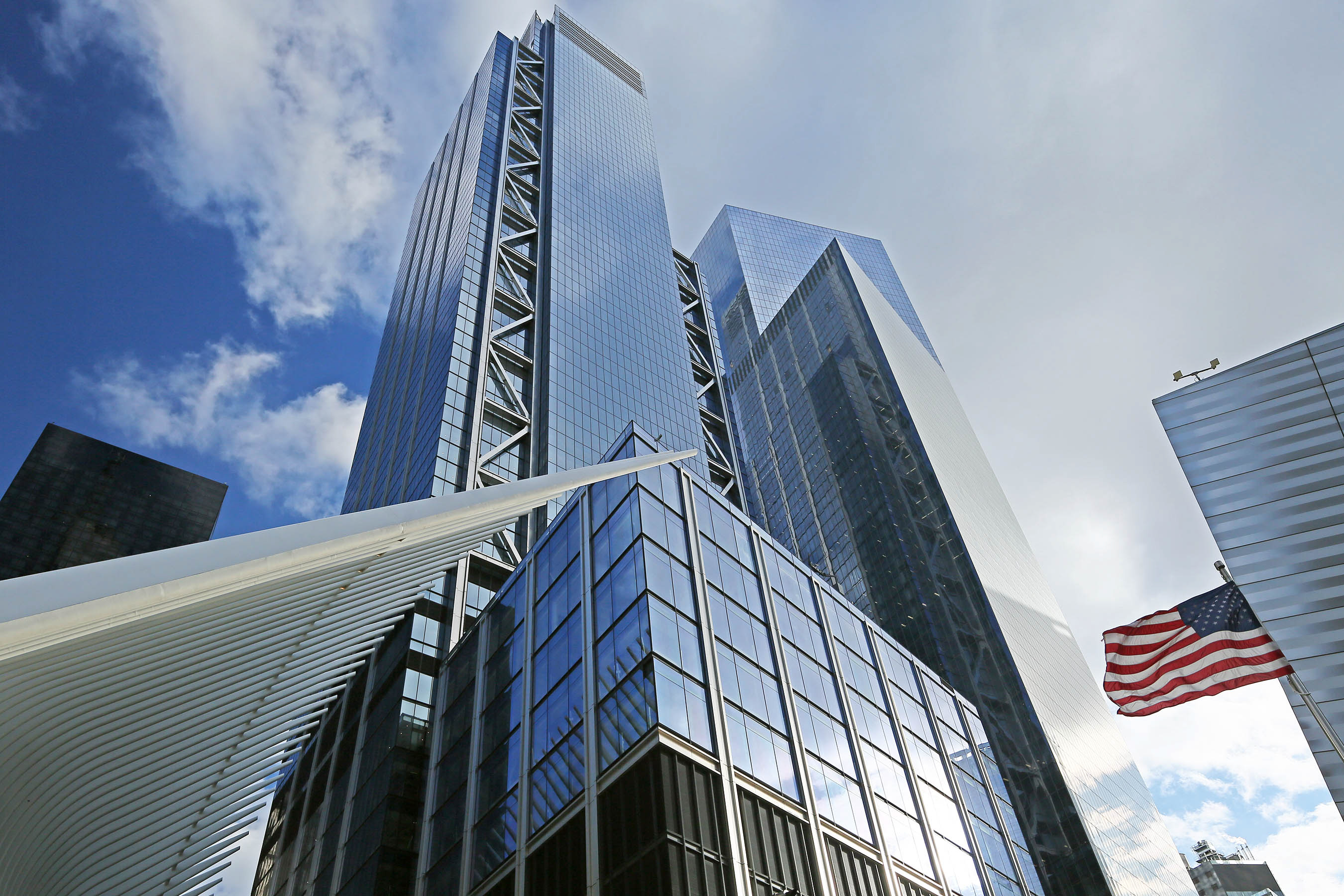 3 World Trade Center officially opens, the fourth WTC building ...