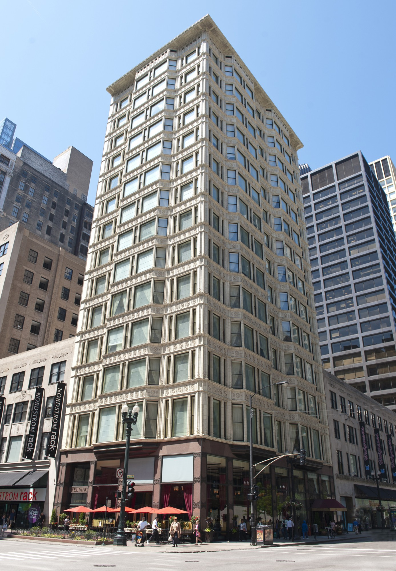 Reliance Building · Buildings of Chicago · Chicago Architecture ...
