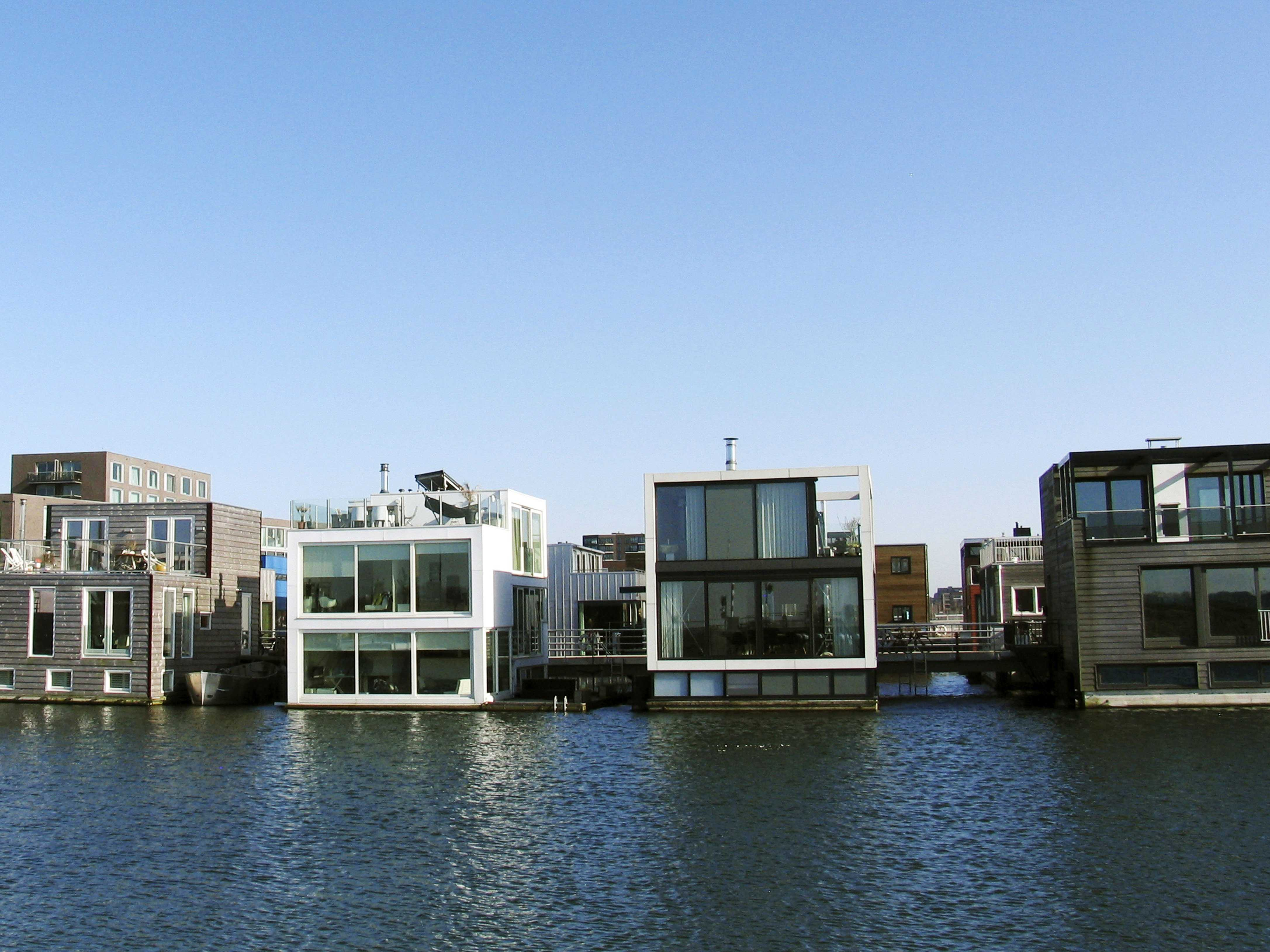 The Netherlands is building houses that float on water - Business ...