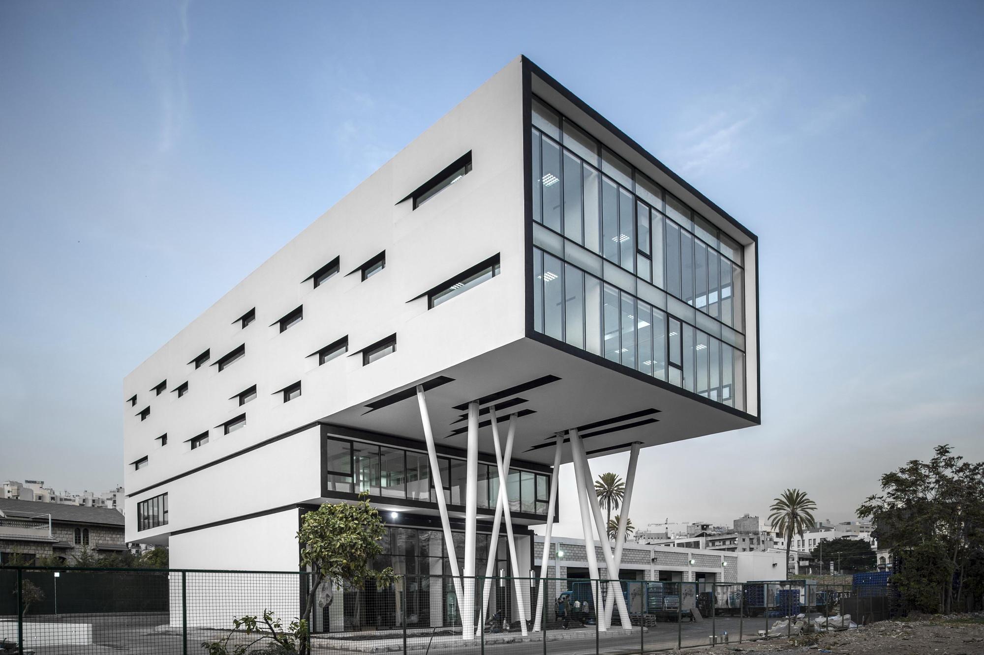 Nestlé Waters Beirut Headquarters / Bernard Mallat Architects + ...