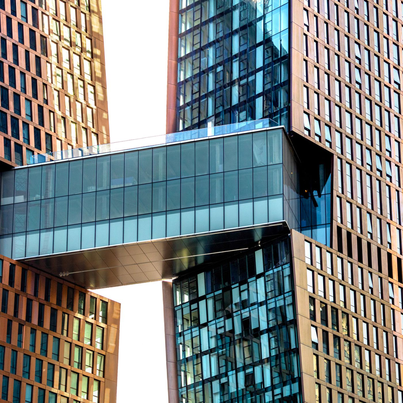 Tour the stunning skybridge at Kips Bay's American Copper Buildings ...