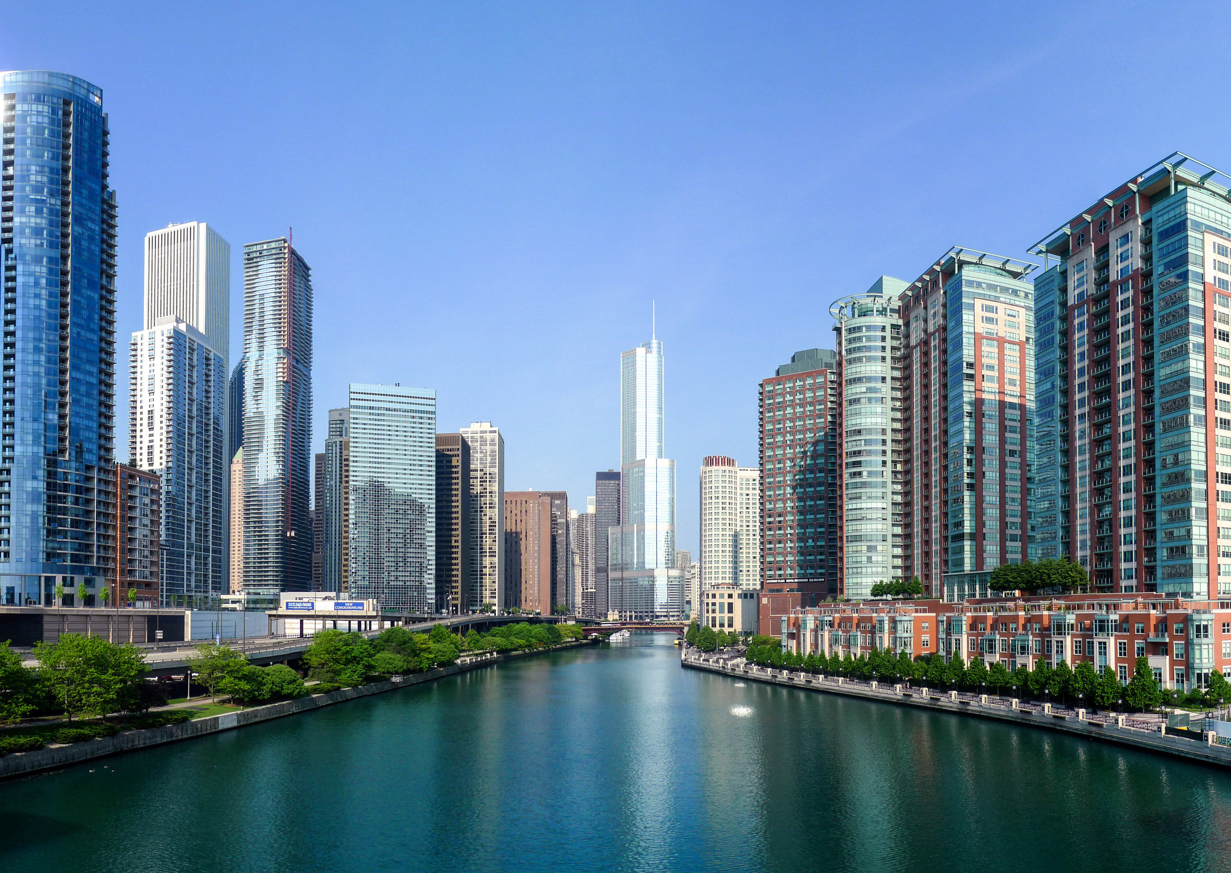 Buildings you Couldn't See Chicago Without (Washington, Columbia ...