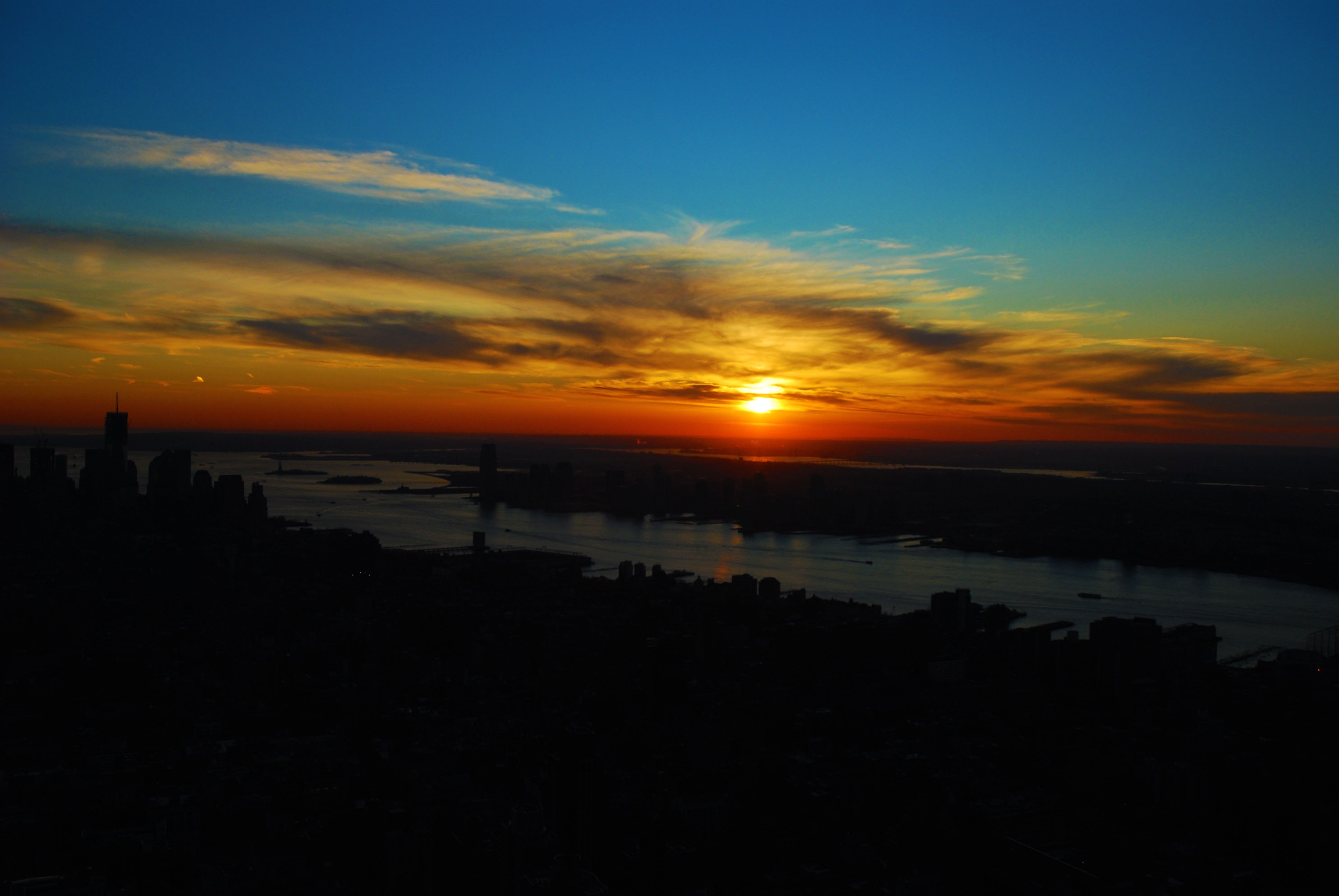 Watching Sunset at the Top of the Empire State Building | Pommie Travels