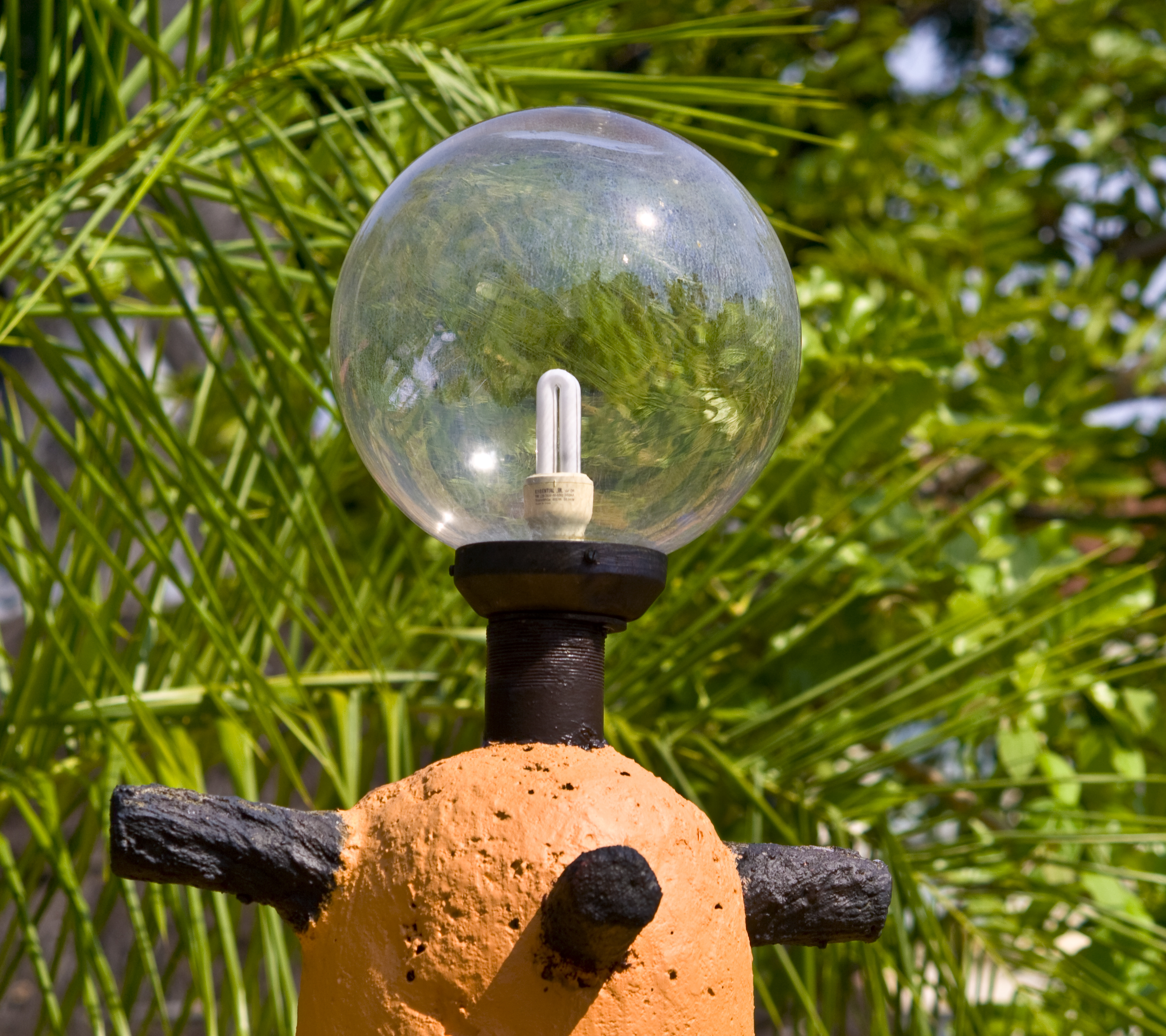 Bulb Outdoor Lamp, Alone, Neon, Tree, Torch, HQ Photo