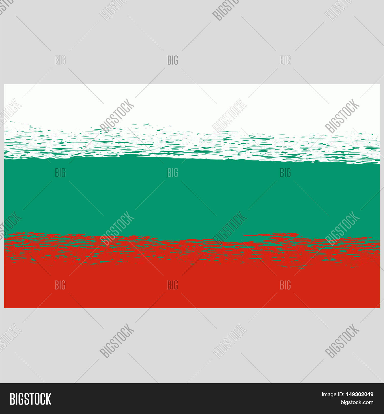 National Grunge Flag Bulgaria Image & Photo | Bigstock