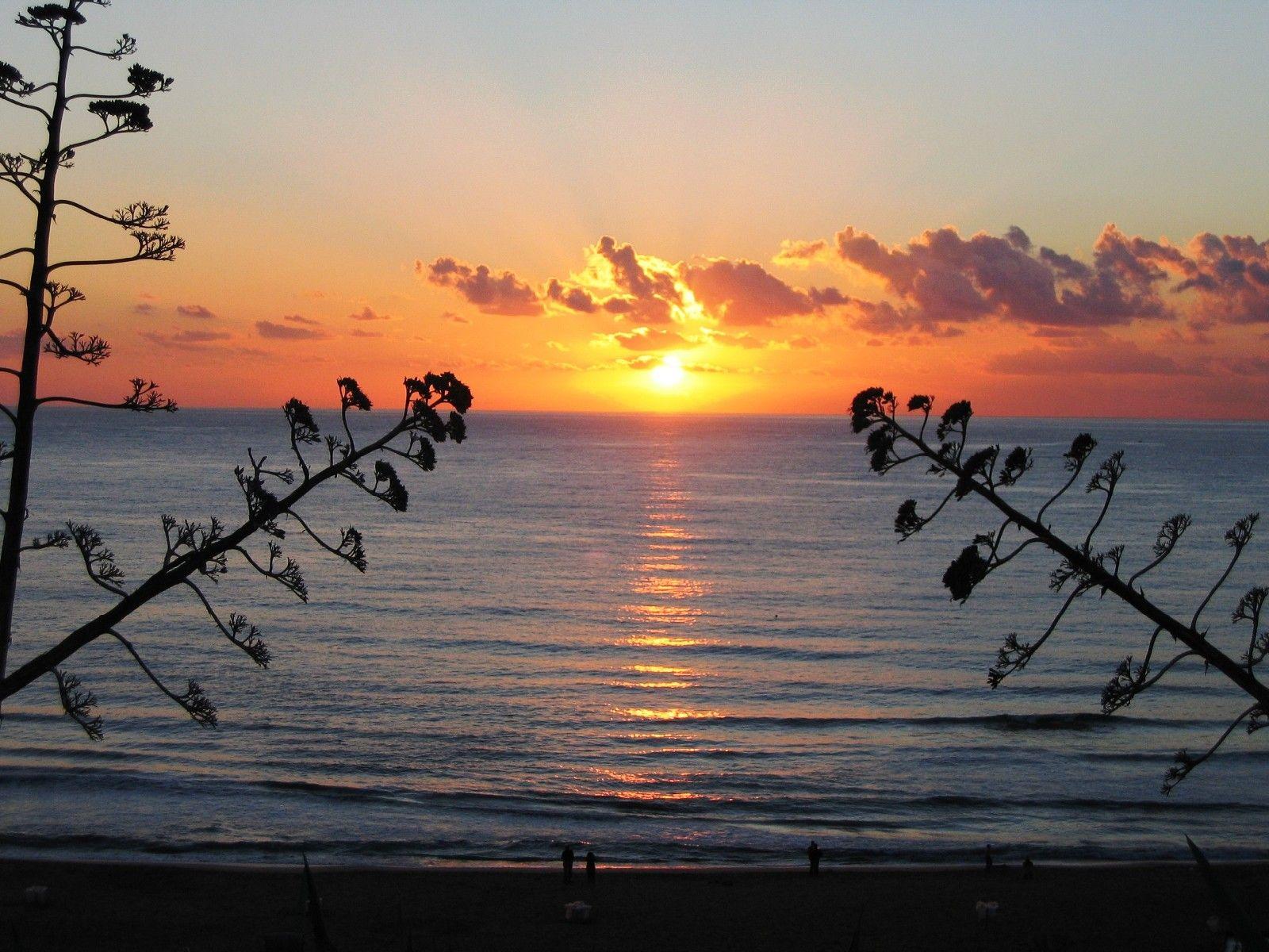 Sunset in bulgaria photo