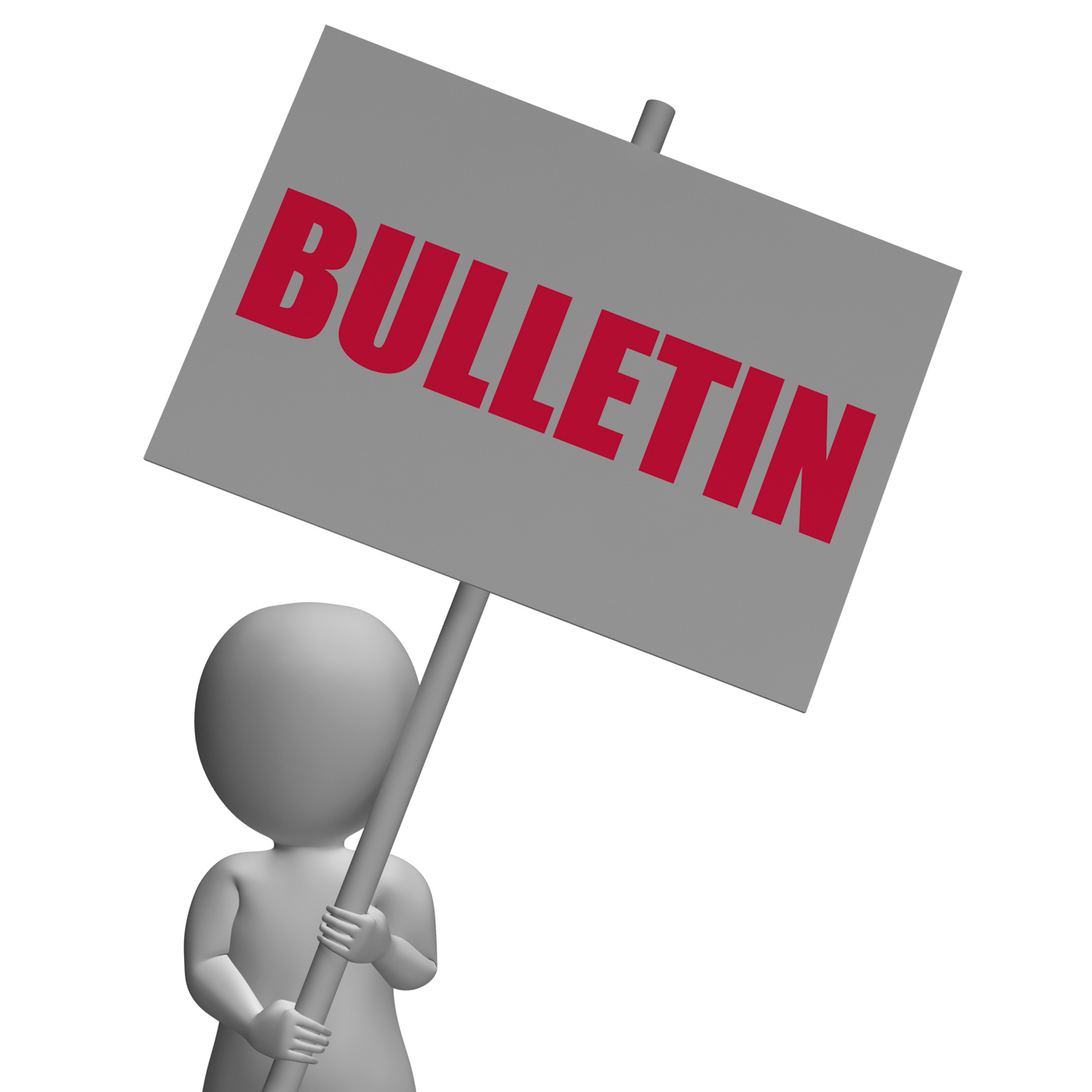 Bulletin Protest Banner Shows Official Notification Or Notice board, Announce, Announcement, Banner, Board, HQ Photo