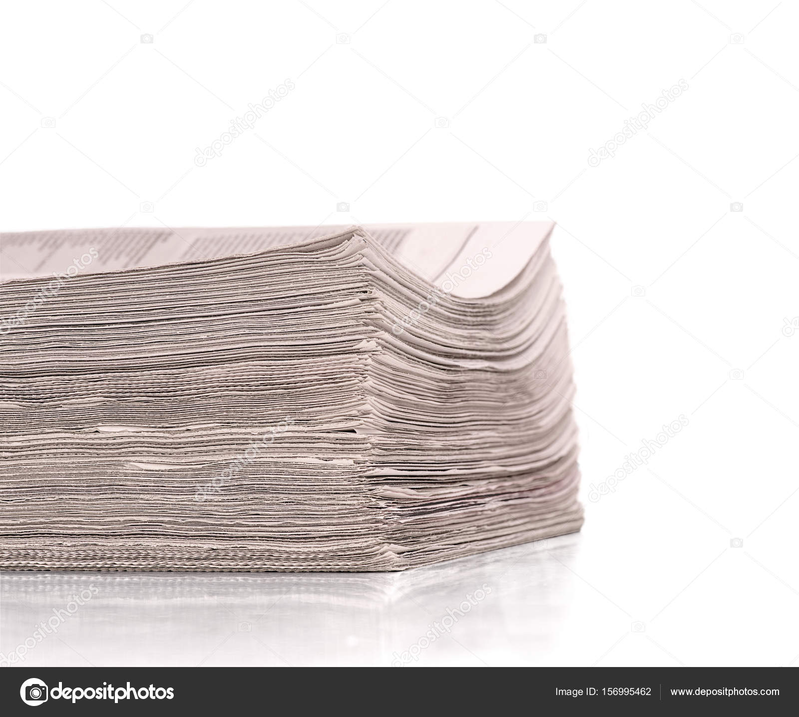 A bunch of newspapers — Stock Photo © urfingus #156995462