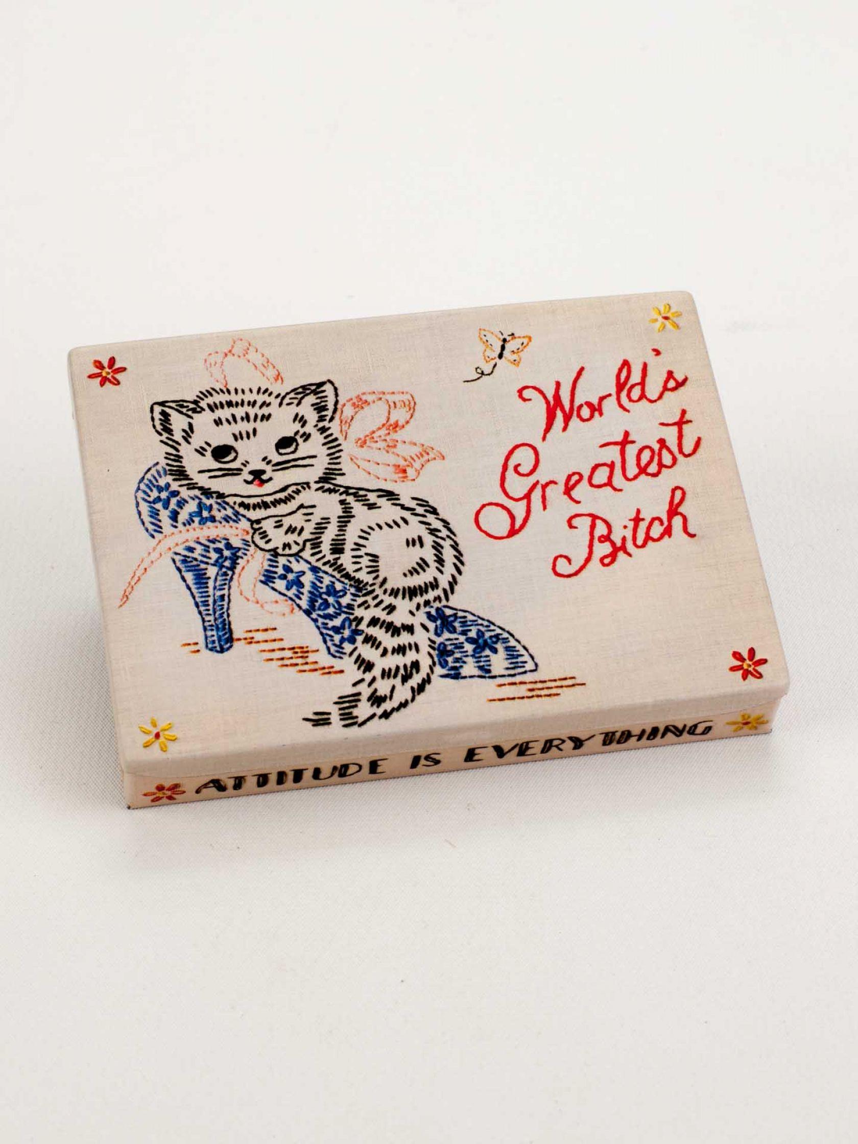 Greatest Bitch Tin Pocket Box