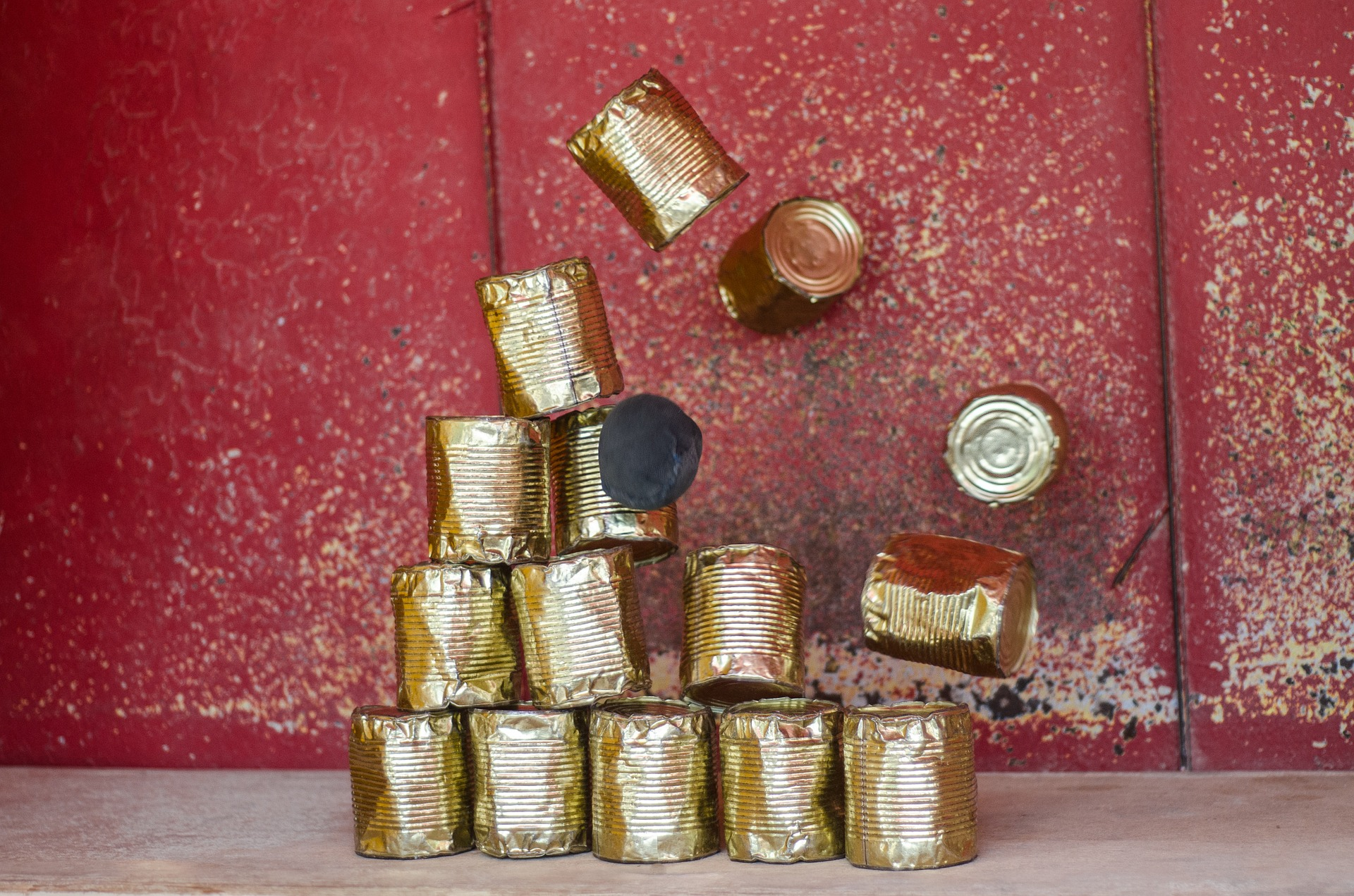 Bunch of Tins, Bunch, Grunge, Grungy, Metal, HQ Photo
