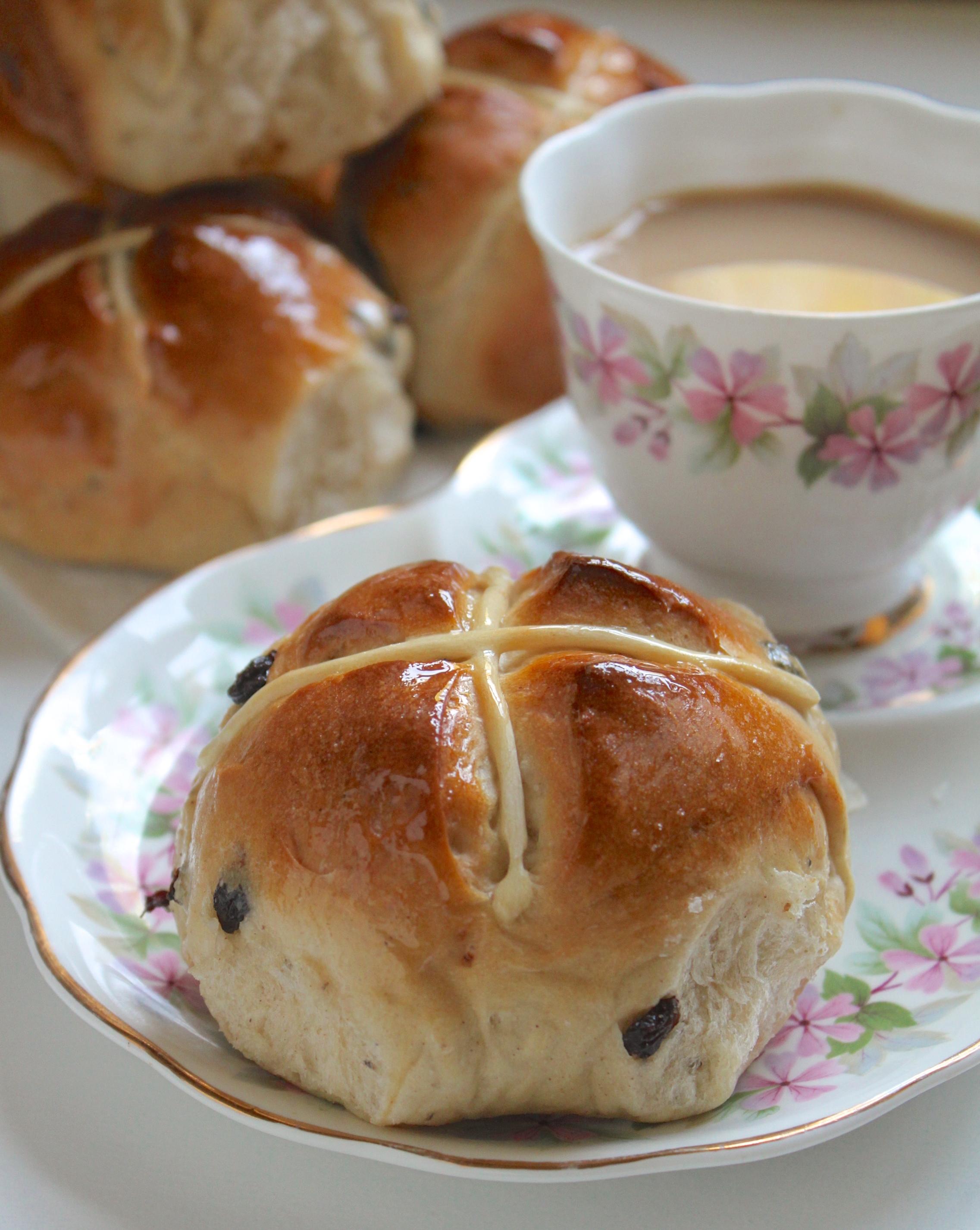 Mrs. Rabbit's Hot Cross Buns Recipe - Christina's Cucina