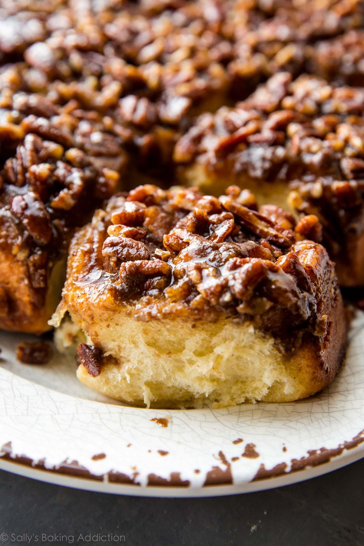 Maple Pecan Sticky Buns - Sallys Baking Addiction