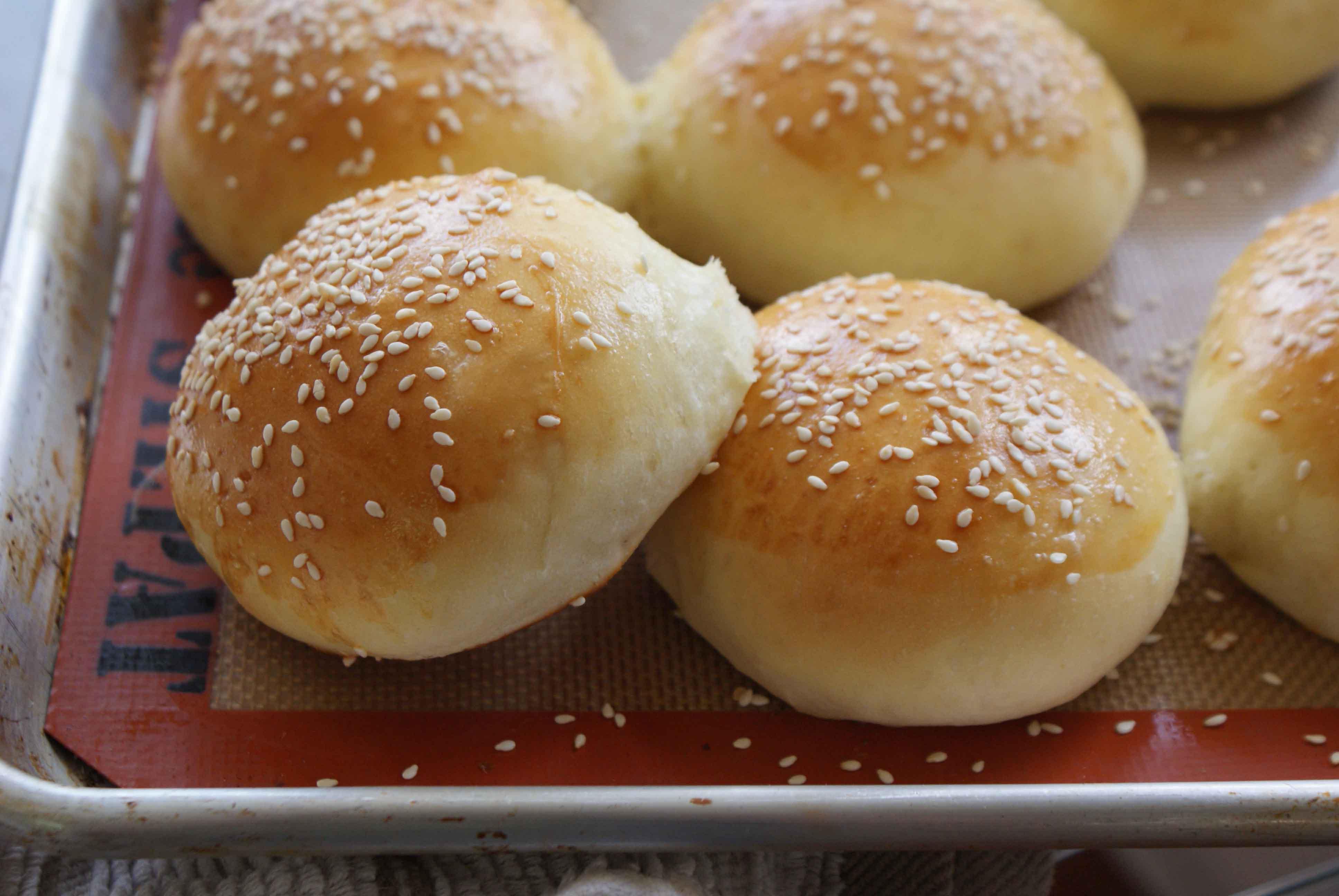 Brioche Burger or Slider Buns - Dinner With Julie