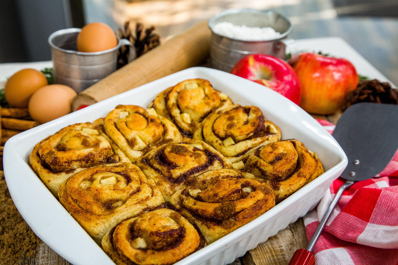 Recipes - Apple Biscuit Buns | Hallmark Channel