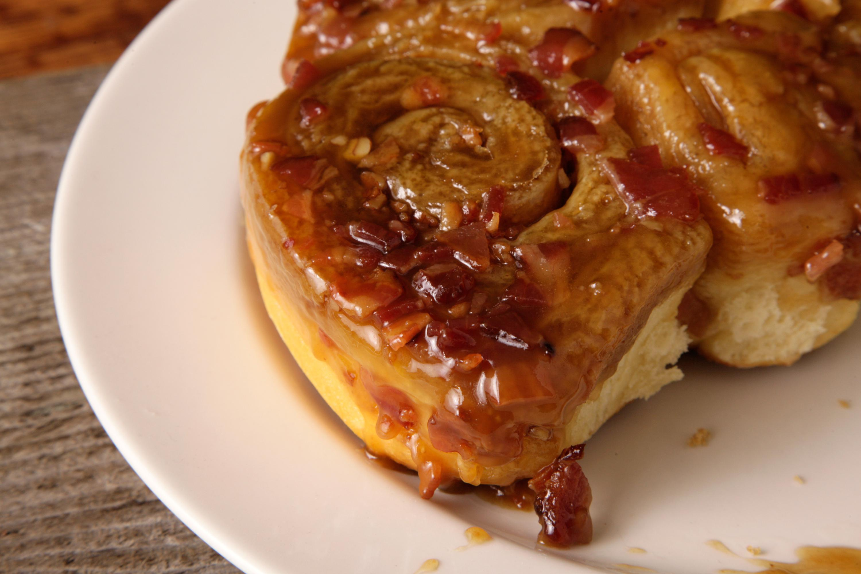 Bacon-Maple Sticky Buns Recipe - Chowhound