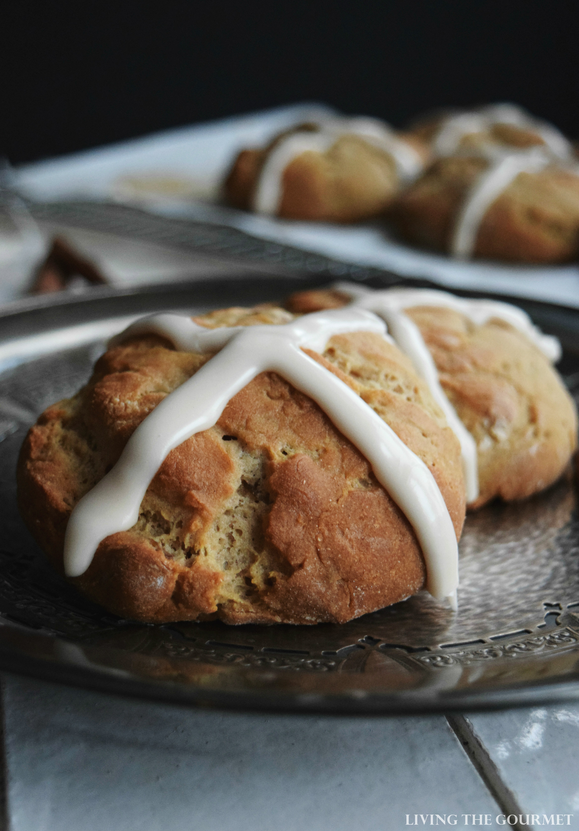Gluten Free Hot Cross Buns - Living The Gourmet